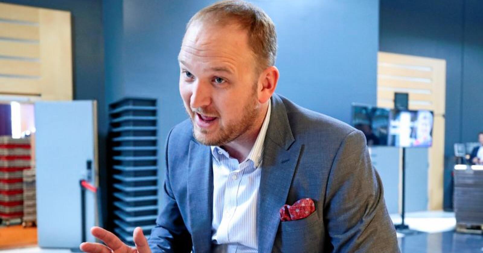 Samferdsleminister Jon Georg Dale. Foto: Lise Åserud / NTB scanpix