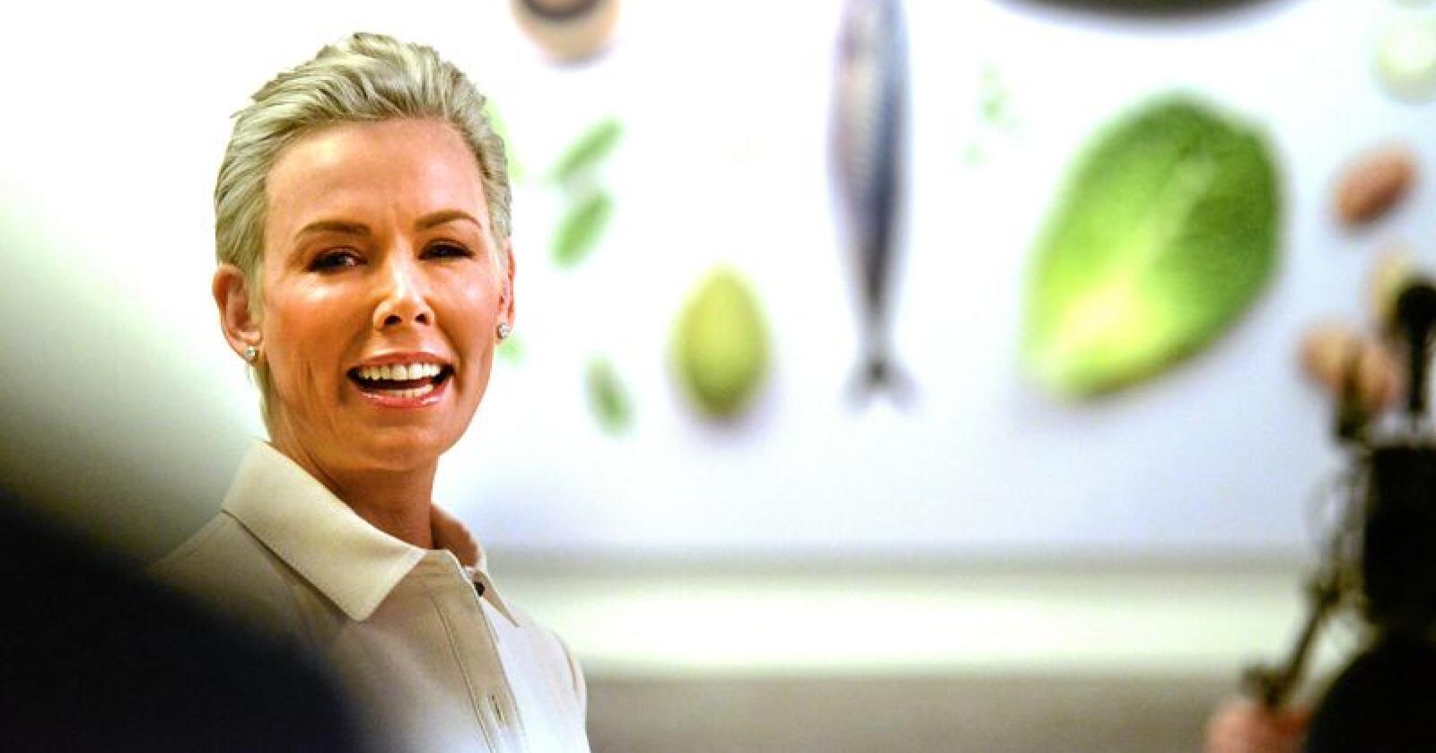 Gunhild Stordalen var i januar med på å legge fram Eat/Lancet-rapporten. Foto: Siri Juell Rasmussen