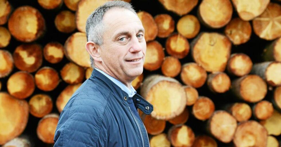 Administrerende direktør Gudmund Nordtun i Glommen Skog mener det må vurderes å splitte opp Klima- og miljødepartementet. Foto: Siri Juell Rasmussen