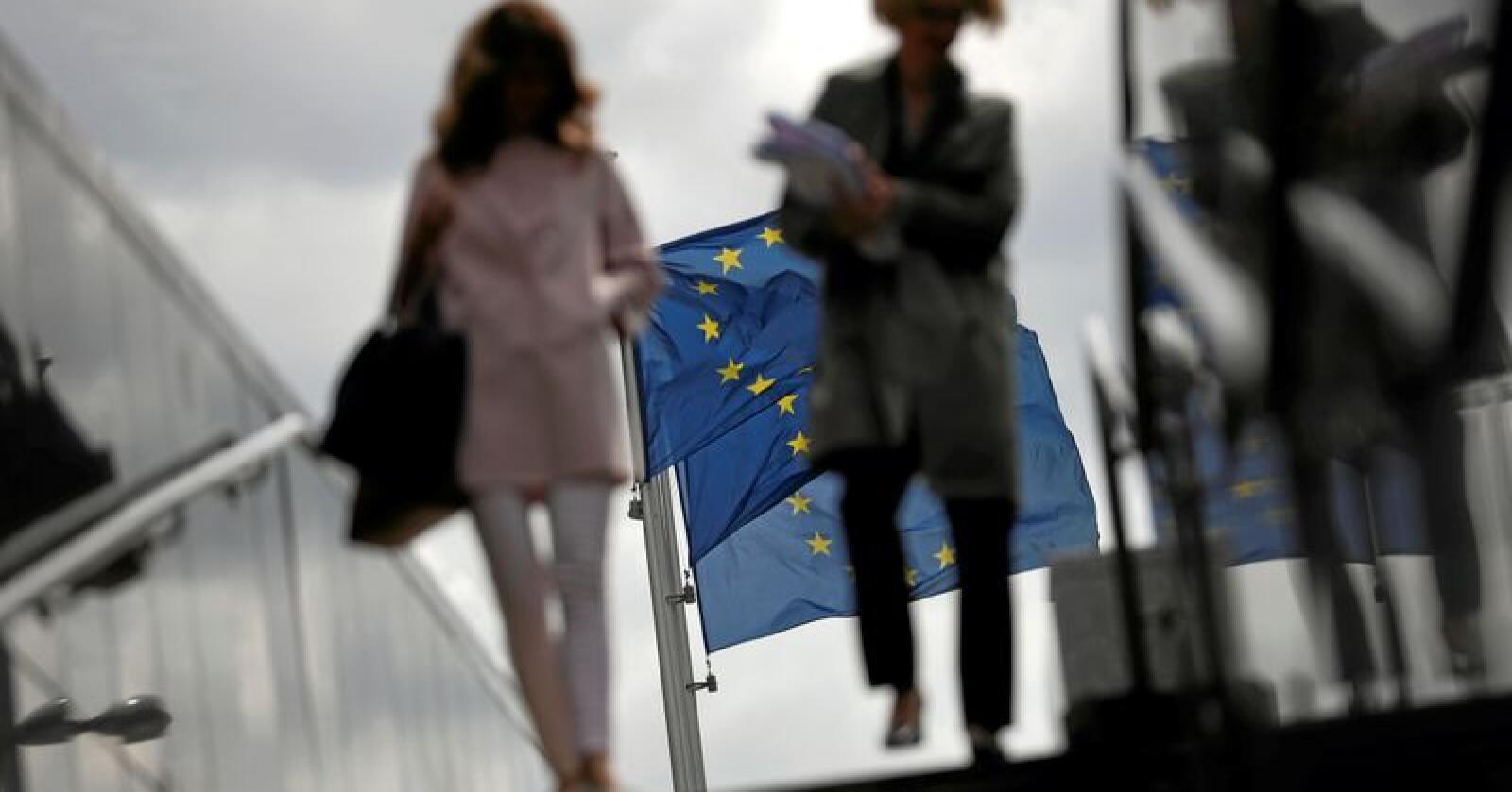 EU-valg: EUs medlemsland har nettopp gjennomført valg til unionens parlament. Foto: Francisco Seco/AP/NTB scanpix