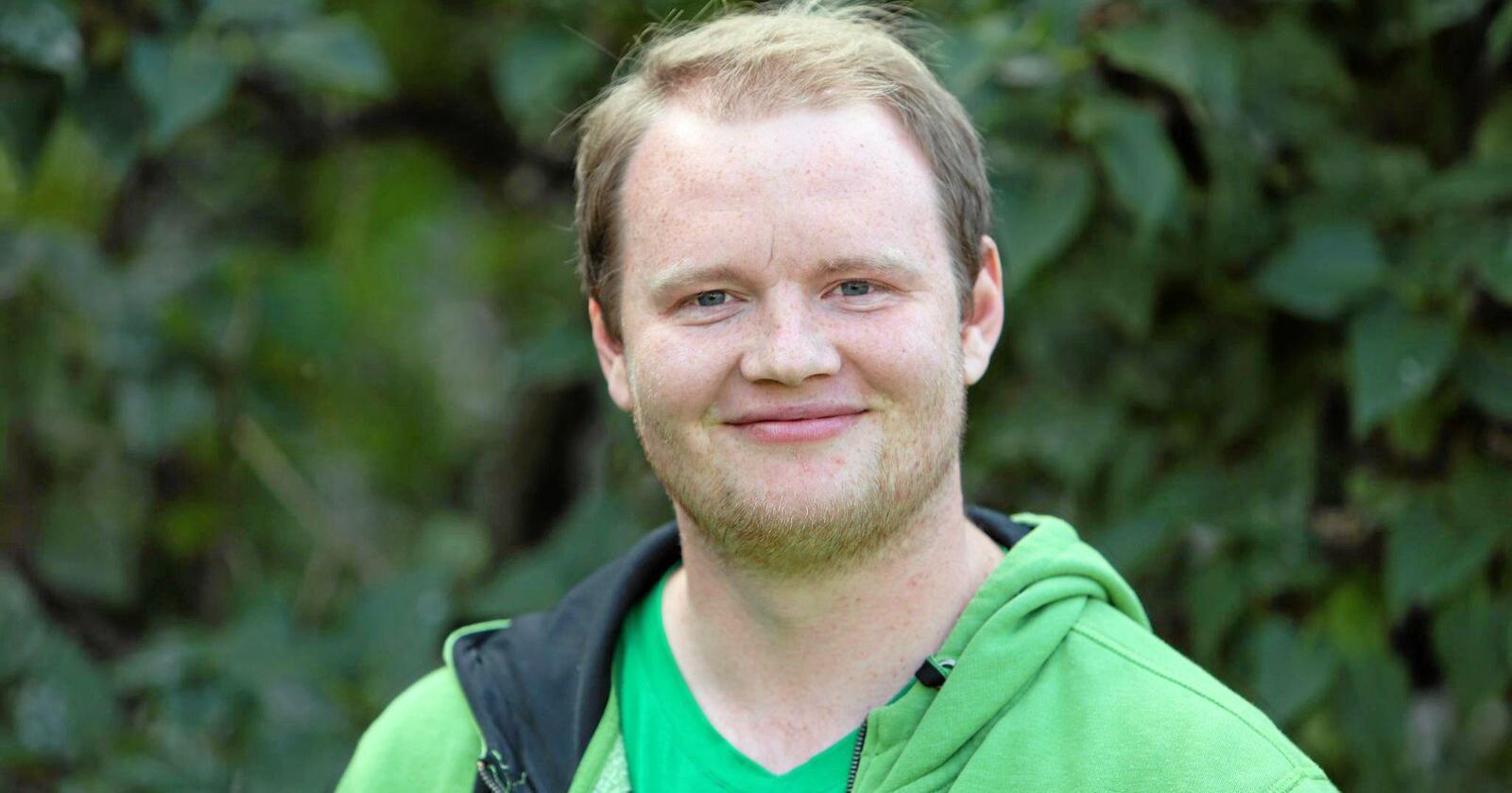 Fredrick Bjerke er landstyremedlem i Ungdom mot EU. Foto: Privat