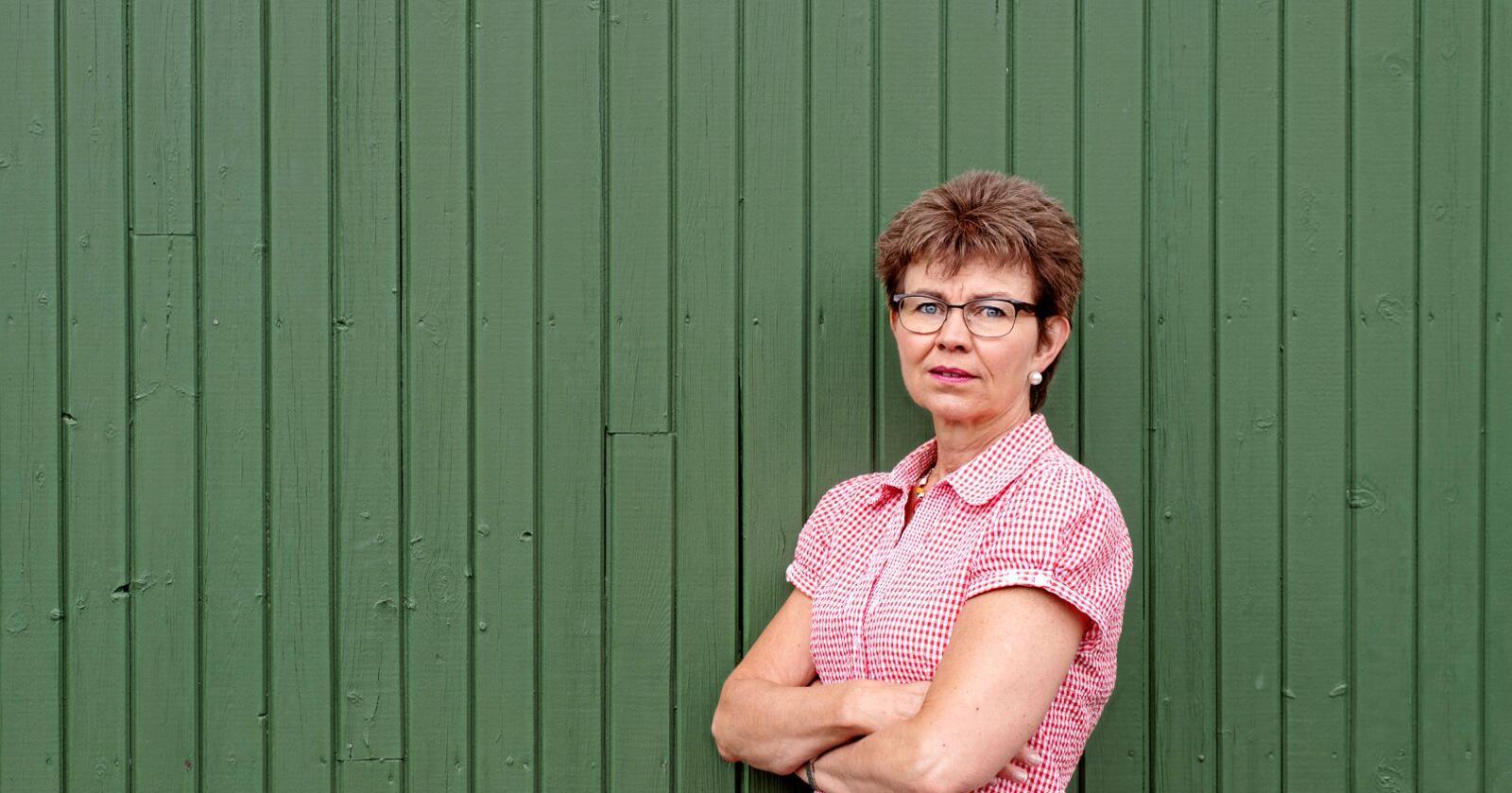Kathrine Kleveland seier at om ikkje samarbeidet med EU leverer klimakutt i Noreg snart, bør Noreg trekkje seg frå EUs kvotemarknad. Foto: Vidar Sandnes