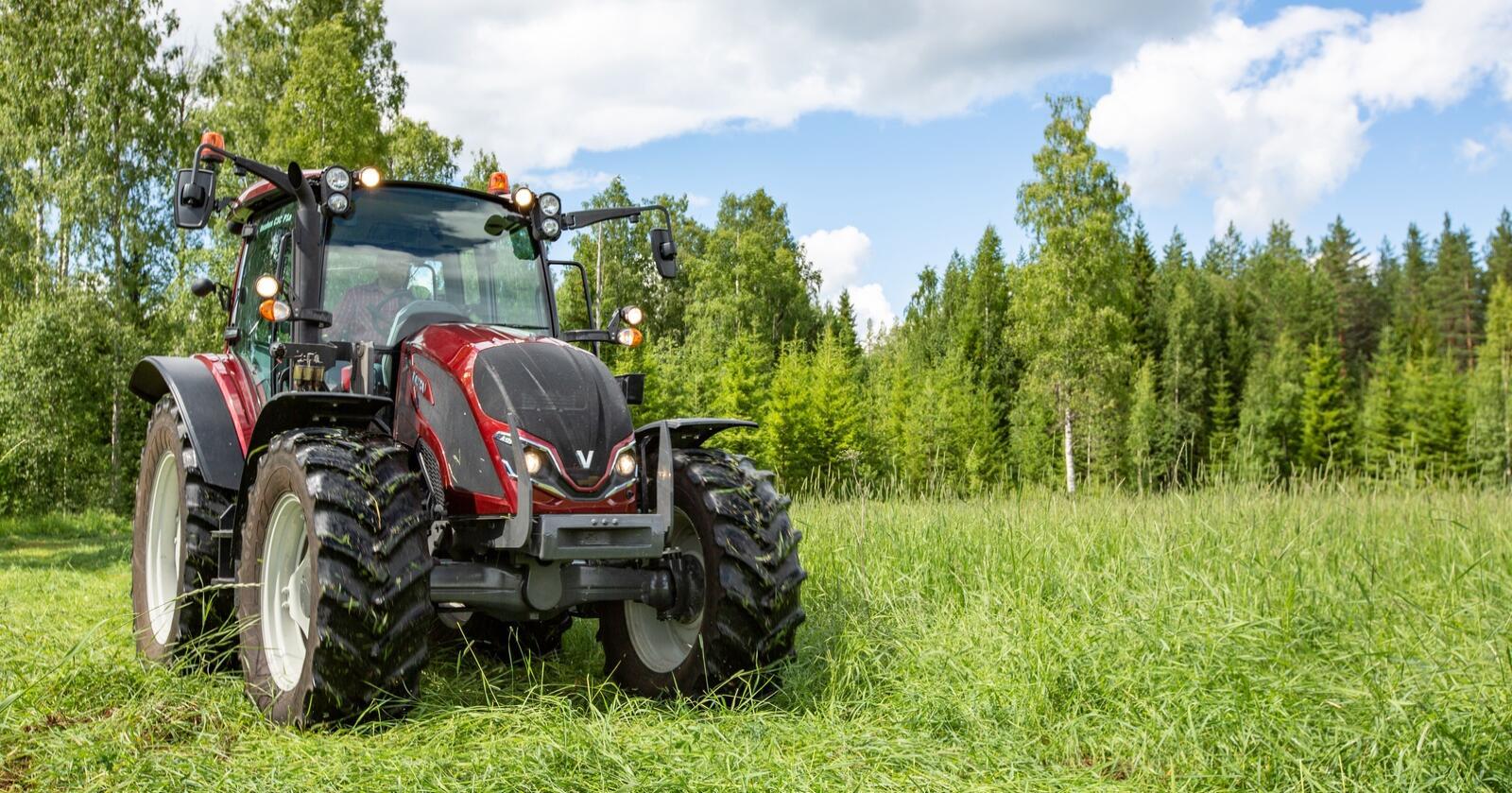 Populær: Valtra A har solgt bra i Norge, og egner seg til en rekke oppgaver.