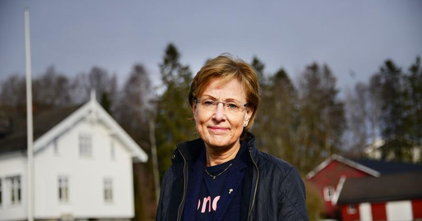 Sigrid Hjørnegård mener det er synd at arbeidet med en slik avtale legges på is. Foto: Siri E. Juell Rasmussen