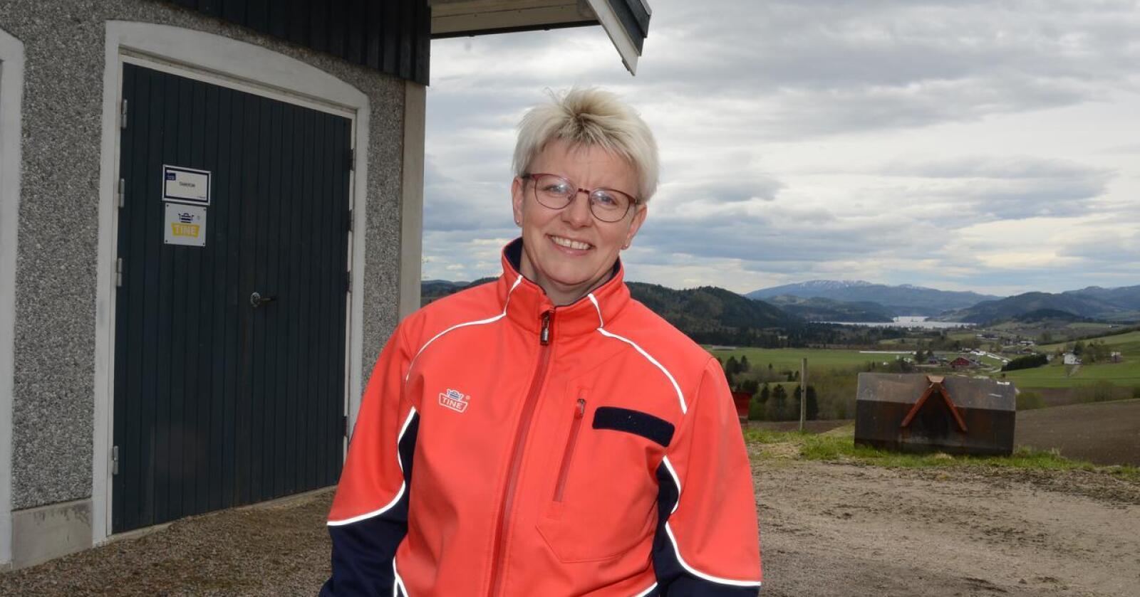 Gode tall: Årsresultatet for 2020 inneholder hyggelig tall, lover Marit Haugen. Nå vil hun sørge for at årets resultat også blir hyggelig lesning.
