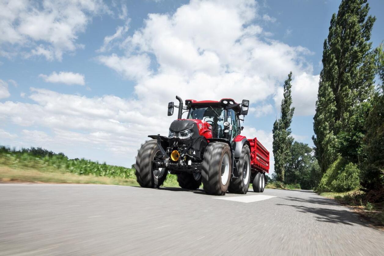 Digital: CNH som blant annet produserer traktormerket Case IH, lanserer en egen digital møteplass