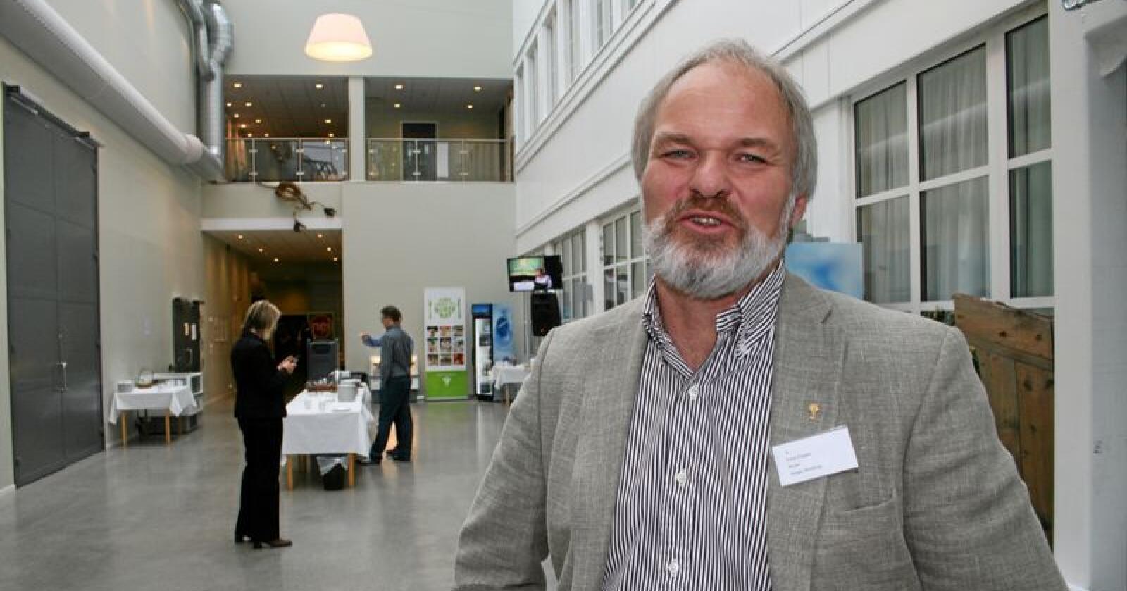 Einar Frogner blir styreleder i det nye selskapet. Foto: Bjarne Bekkeheien Aase