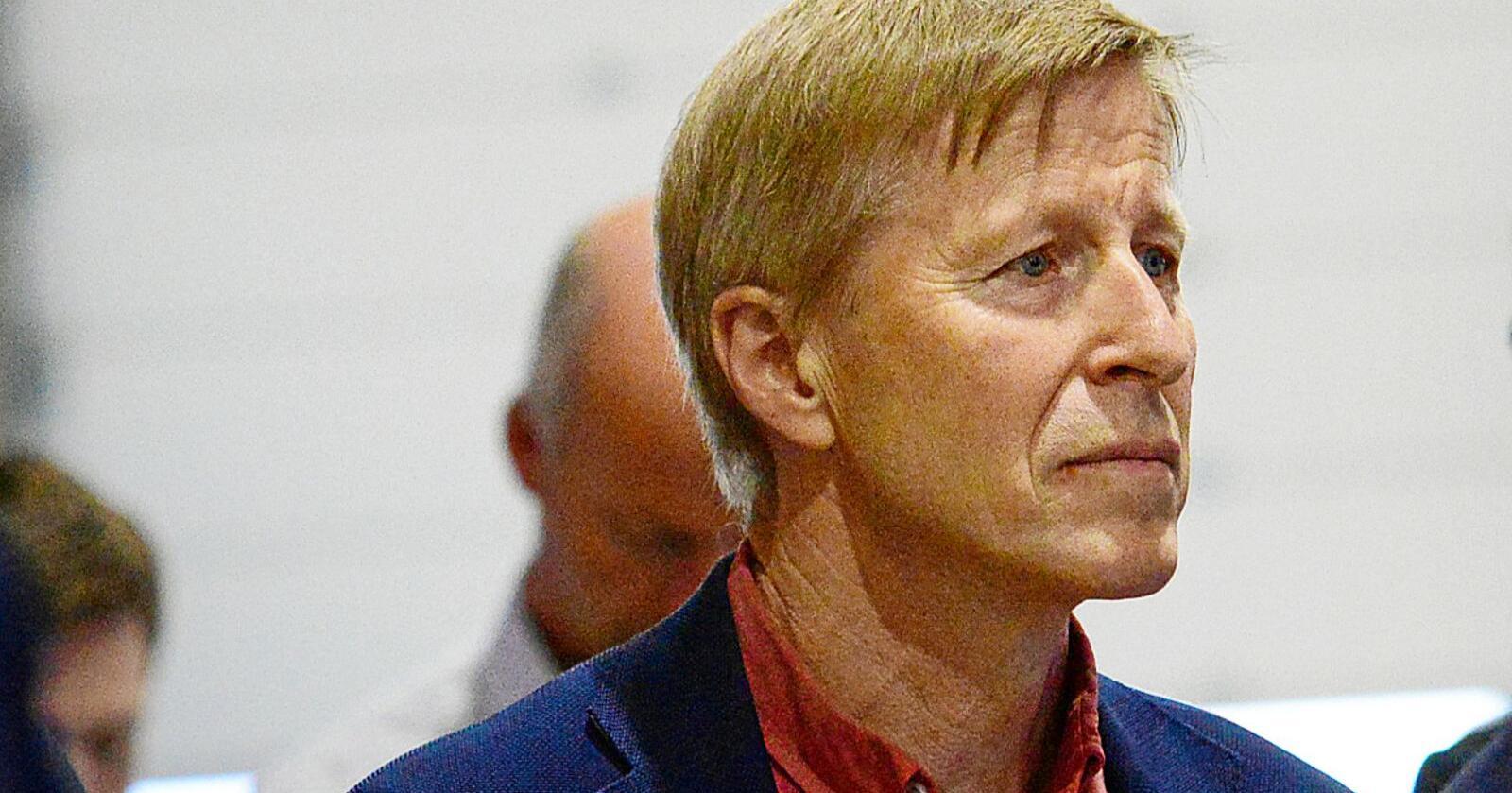 Per Skorge, administrerende direktør i Norges Skogeierforbund, mener dommen skaper usikkerhet. Foto: Siri Juell Rasmussen