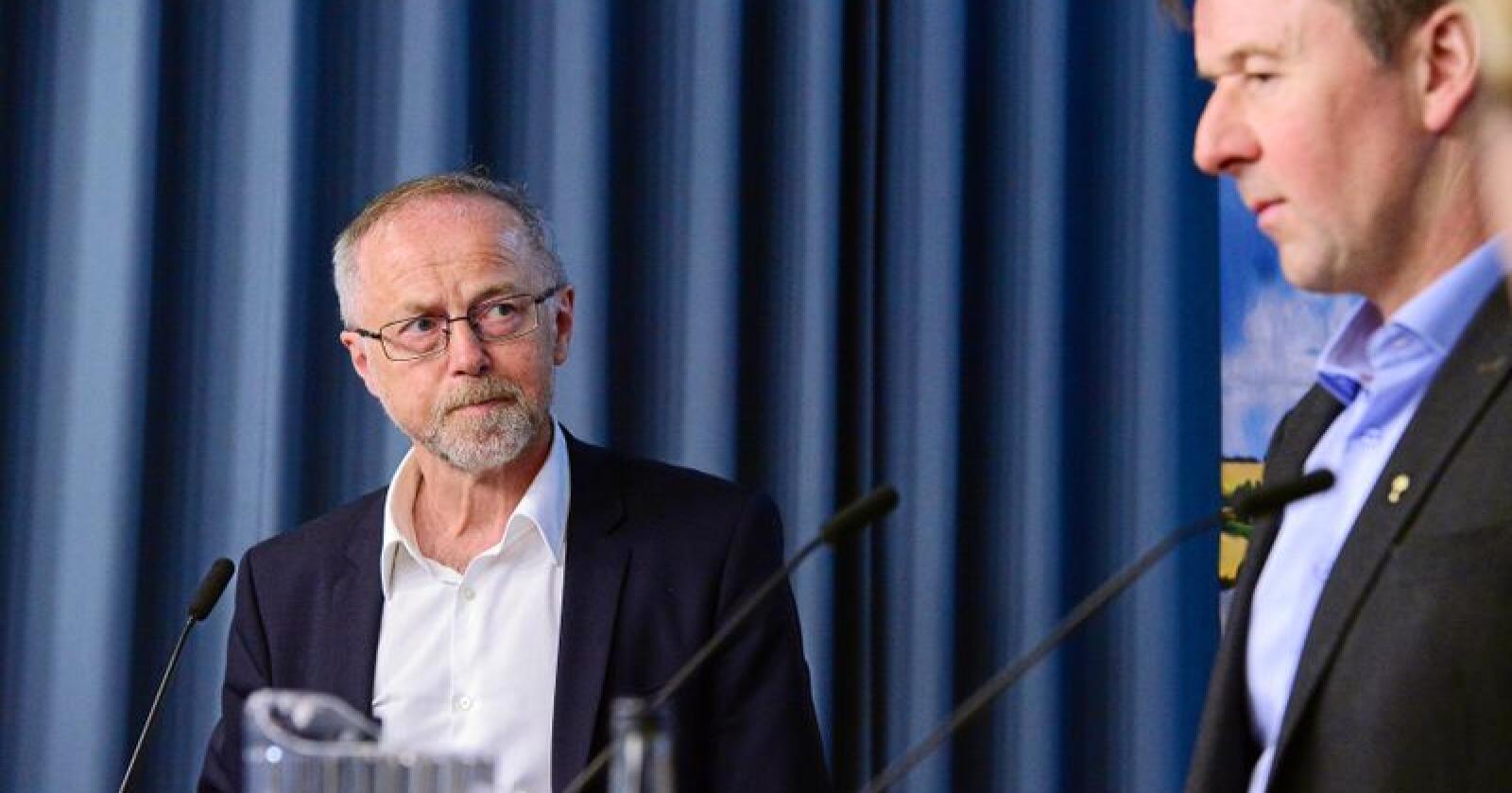 Regnemester: Leif Forsell, statens forhandlingsleder i jordbruksoppgjøret. Foto: Siri Juell Rasmussen