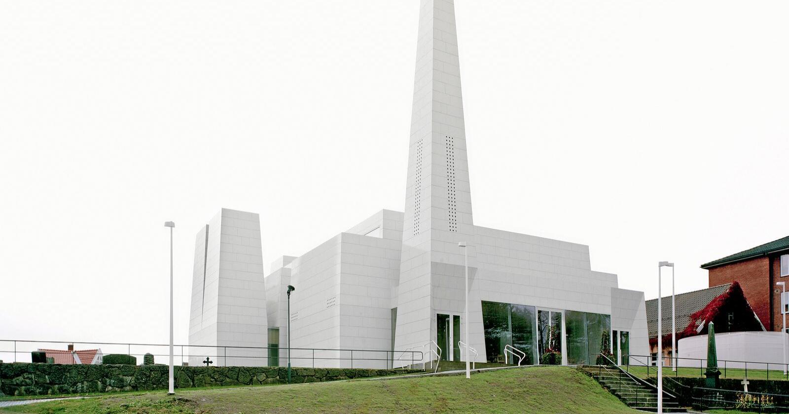 Østre Porsgrunn kirke. Foto: Arkitekt Espen Surnevik og fotograf Rasmus Norlander