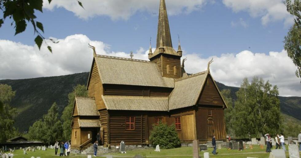 Ingen søkarar har meldt seg til den ledige prestestillinga i stavkyrkja i Lom. Foto: Terje Bendiksby / NTB scanpix / NPK