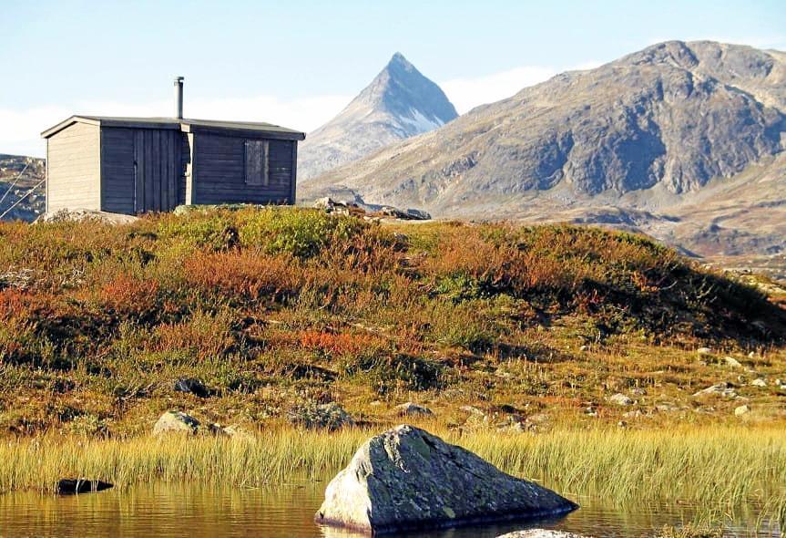 Dekker behovet: Flere steder på fjellet eller i innlandet kan du finne flere hytteperler til en rimelig pris. Foto: Inatur
