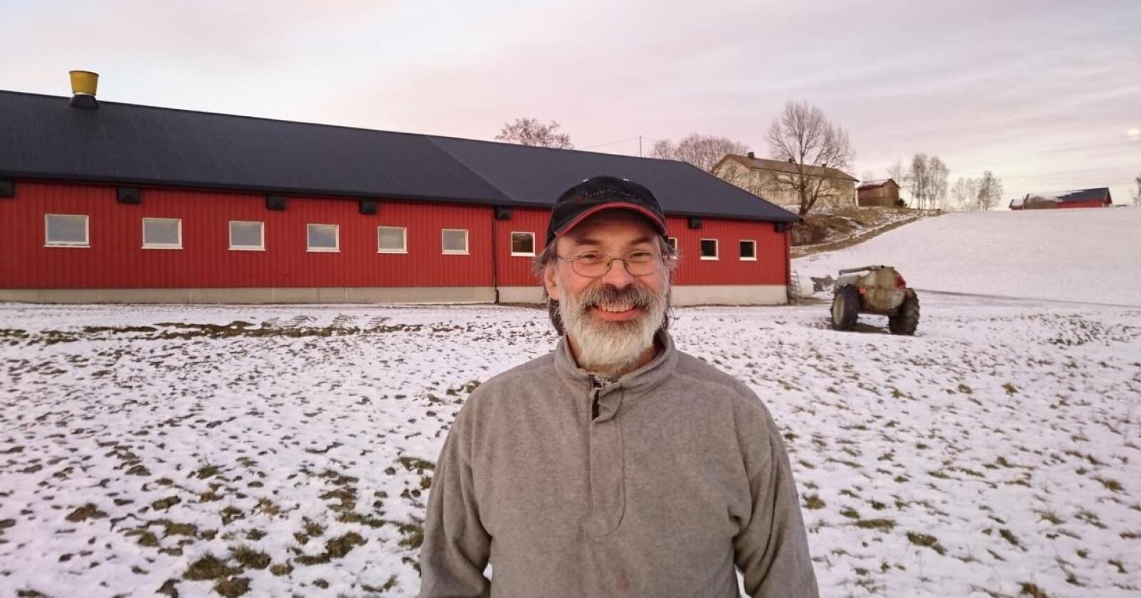 – Det er ingen vits for oss å bruke opp kvoten vår på dårlig betalt vintermelk.