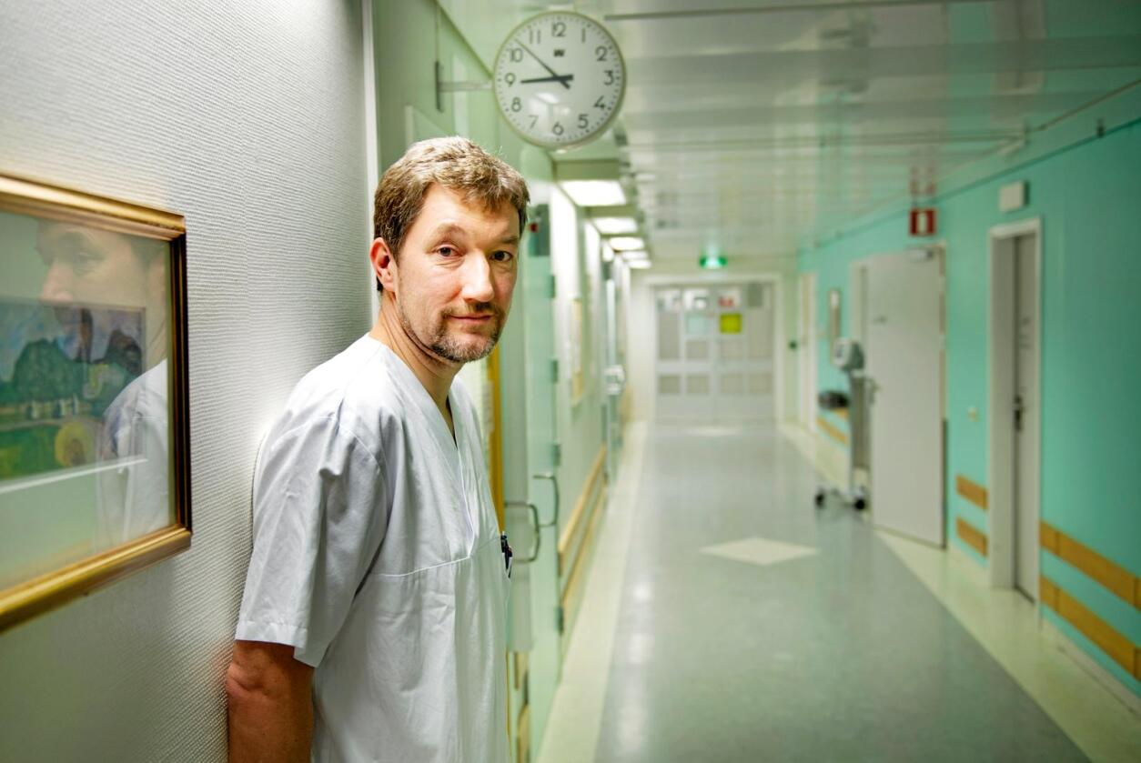 Antibiotikabruk: Leiinga må prioritere saka, seier overlege Gunner S. Simonsen ved UNN. Foto: Ingun A. Mæhlum