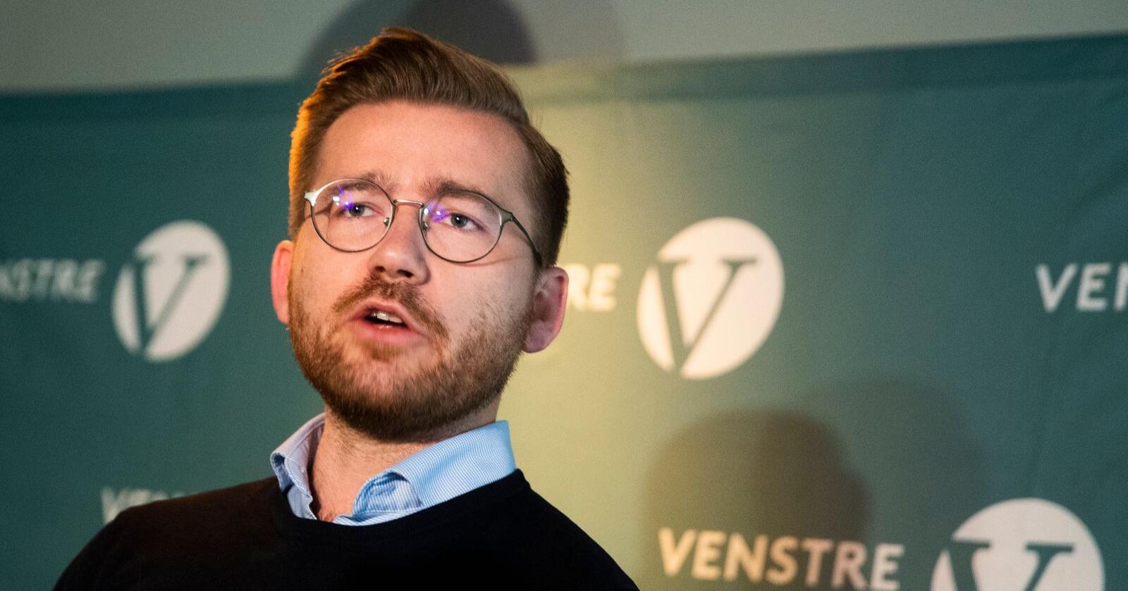 Klima- og miljøminister Sveinung Rotevatn (V). Foto: Berit Roald / NTB