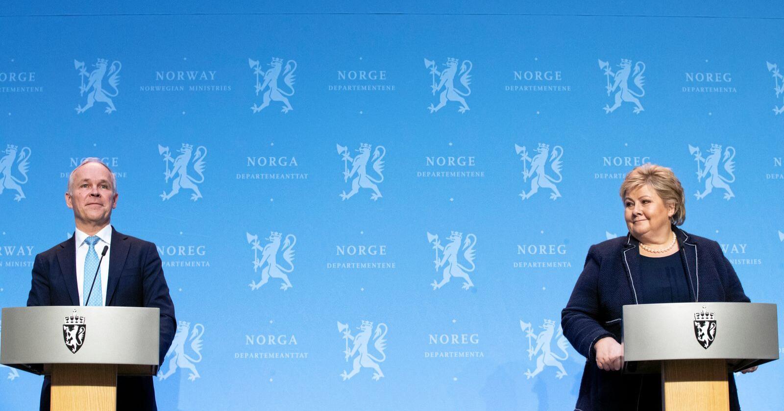 Mistro: Solberg-regjeringas tvangsbruk har svekket velgernes tillit.  Foto: Berit Roald / NTB