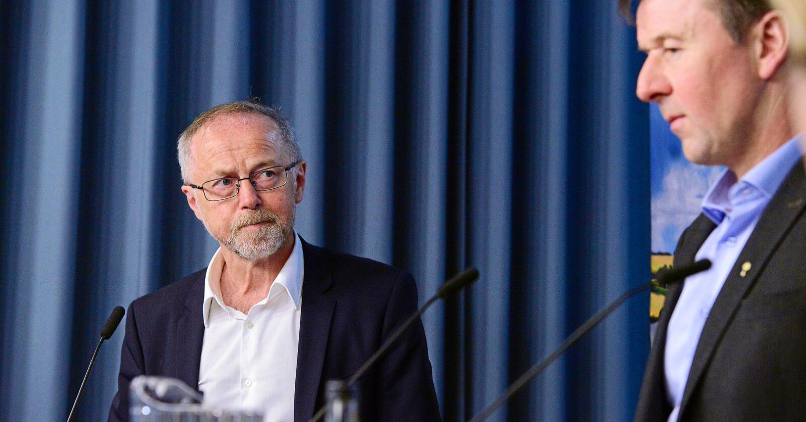 Leif Forsell, har vært forhandlingsleder for Staten under jordbruksforhandlingene de siste årene. Foto: Siri Juell Rasmussen