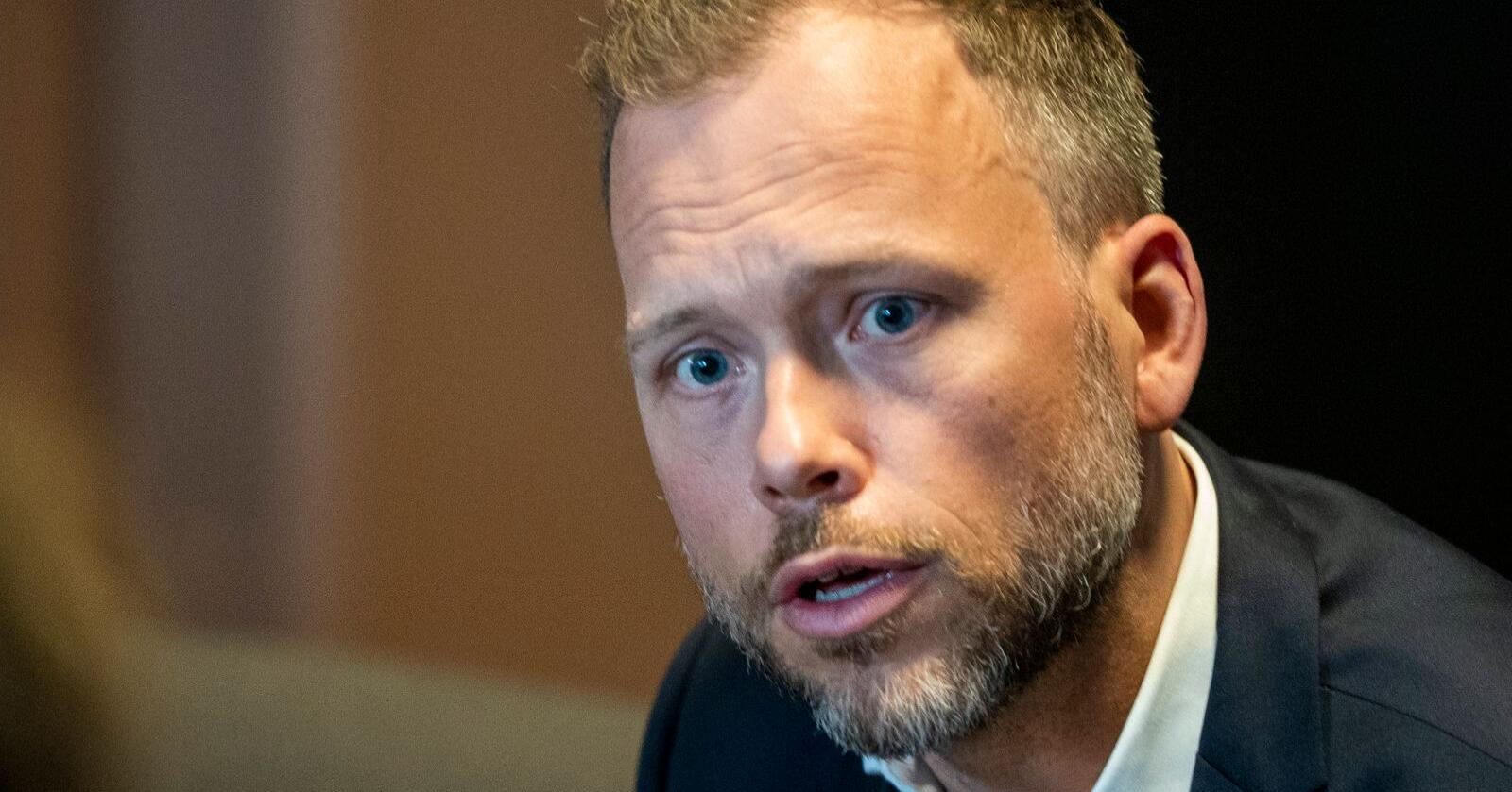 Beskyldes for uærlighet: SV og partileder Audun Lysbakken får skatterefs fra Høyre.  Foto: Terje Pedersen / NTB