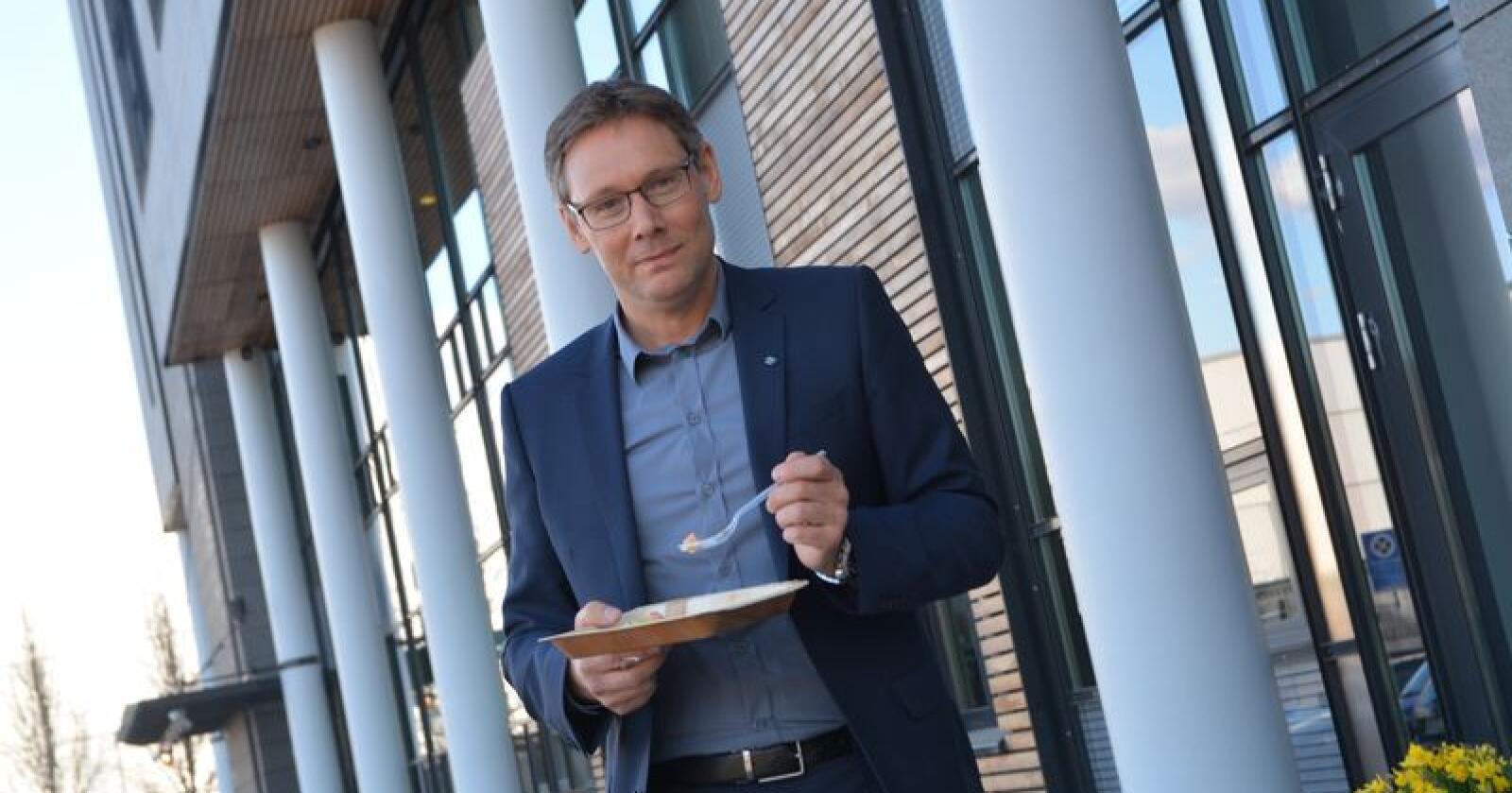 Det arbeides godt i Nortura, og konsernsjef Arne Kristian Kolberg er optimist. – Jeg ser en aktiv eierorganisasjon som vil ha raskere resultater, sier Kolberg.