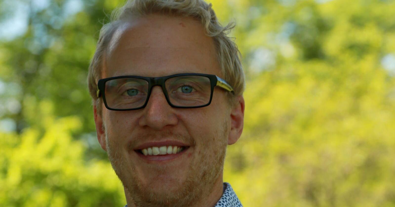 Christian Reimer i Dataväx forteller at Cropplan totalt har 5000 brukere i Sverige og Norge.