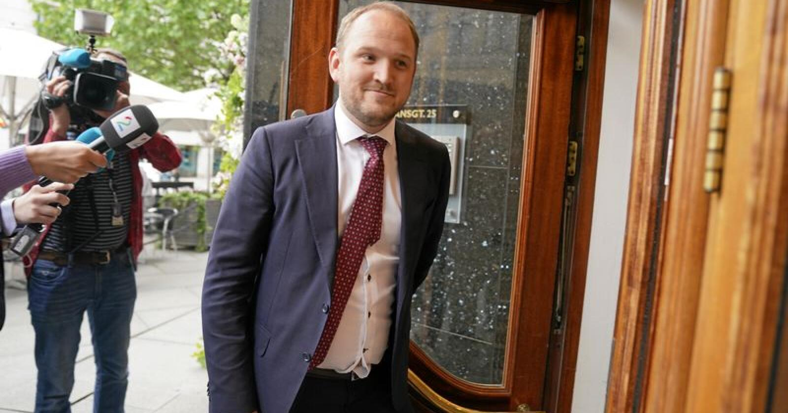 Samferdselsminister Jon Georg Dale (Frp). Foto: Heiko Junge / NTB scanpix