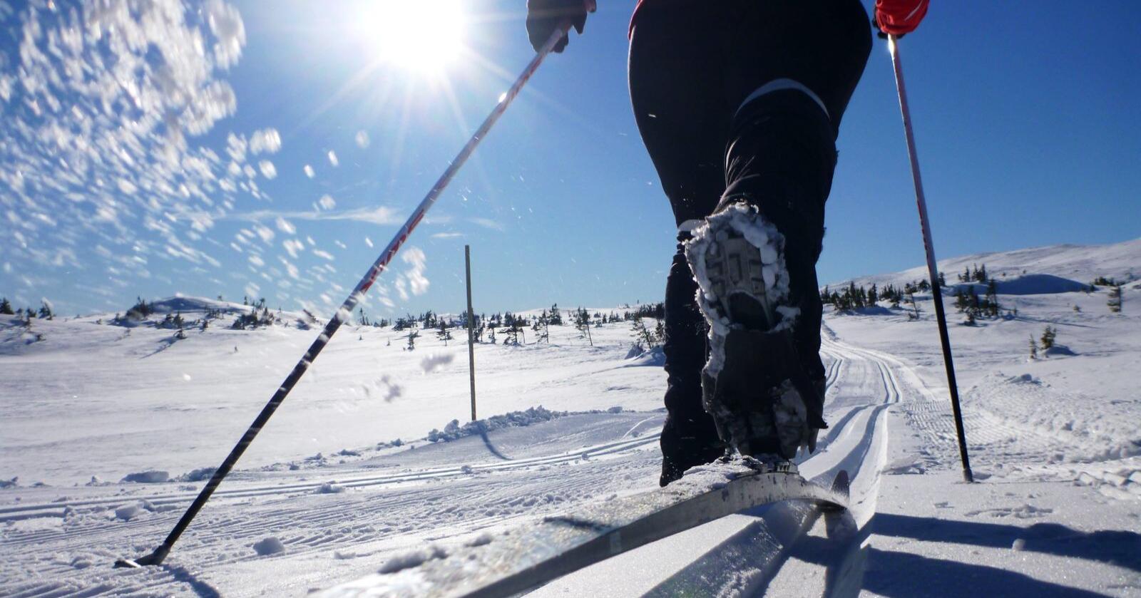 Det er godt kjent at skismørjing inneheld fluorstoff. Foto: Erik Johansen / NTB scanpix / NPK