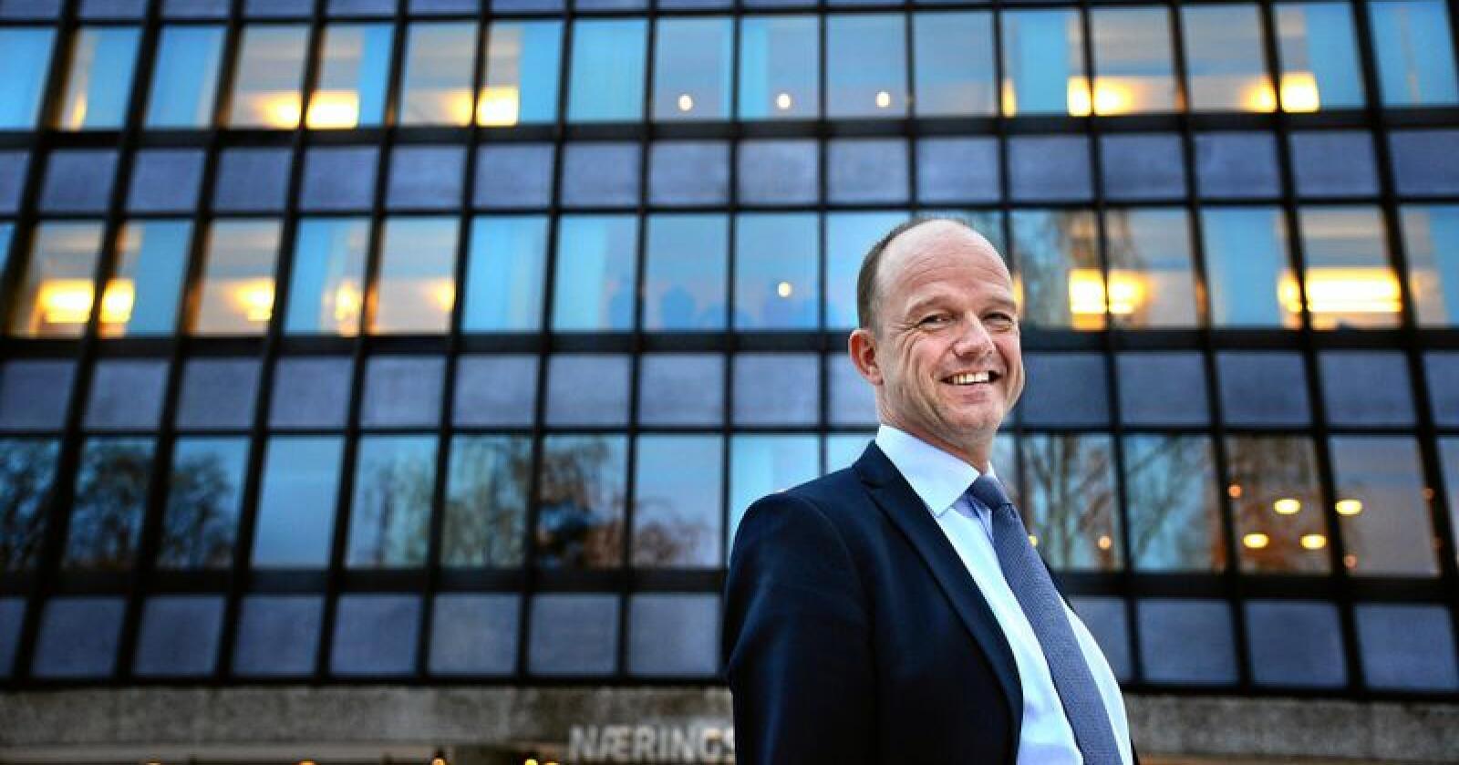 NHO-direktør Ole Erik Almlid. Foto: Siri Juell Rasmussen