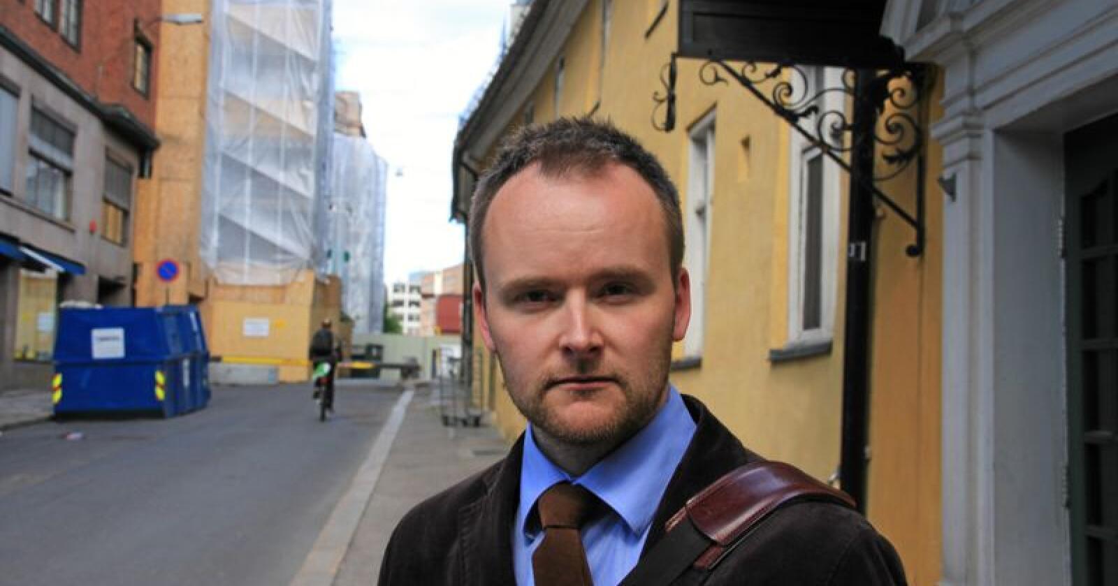 Jusprofessor Eirik Holmøyvik. Foto: Eva Aalberg Undheim