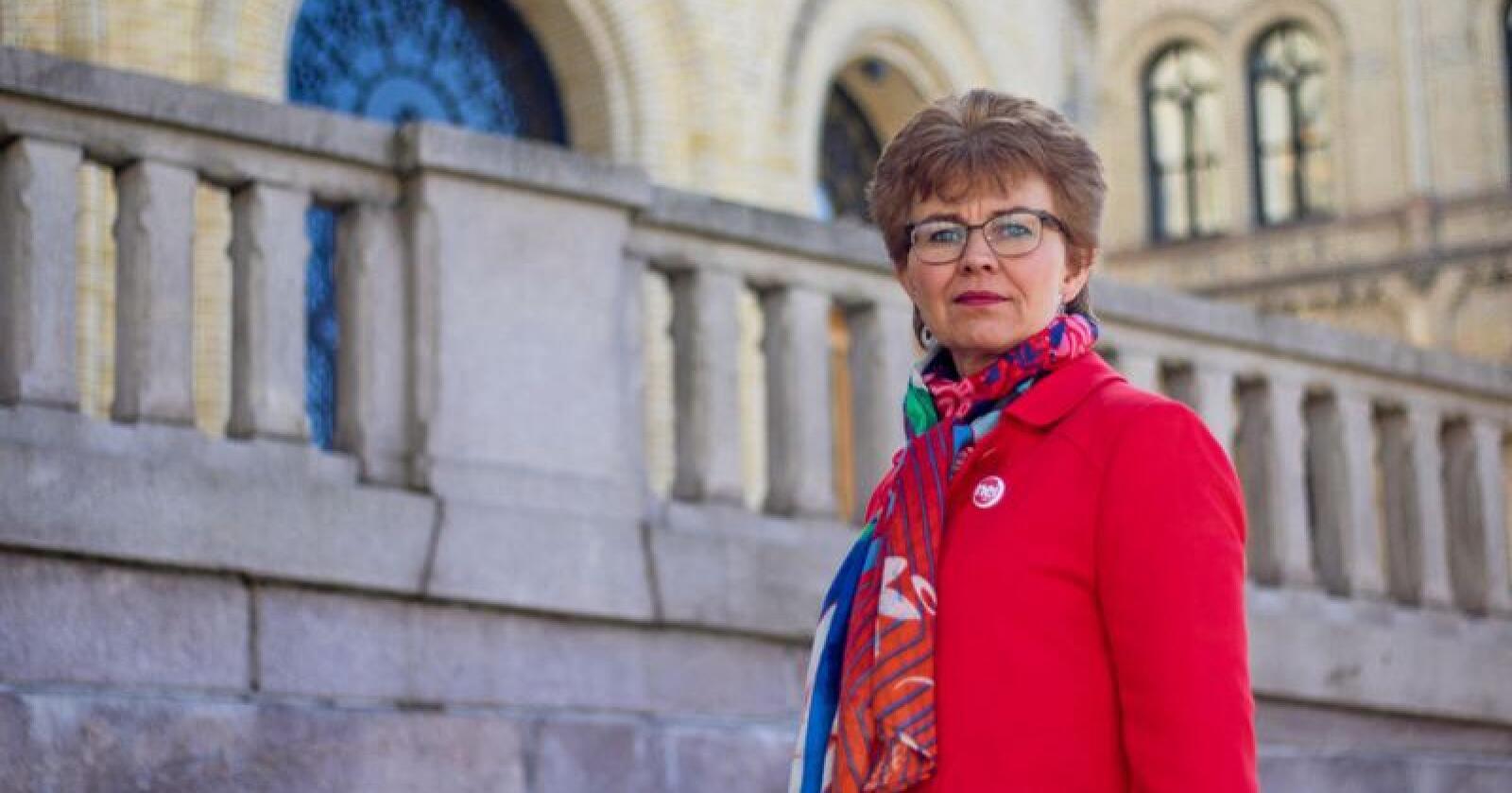 Kathrine Kleveland, leder i Nei til EU, har ikke gitt opp kampen mot EUs energibyrå. Foto: Nei til EU.