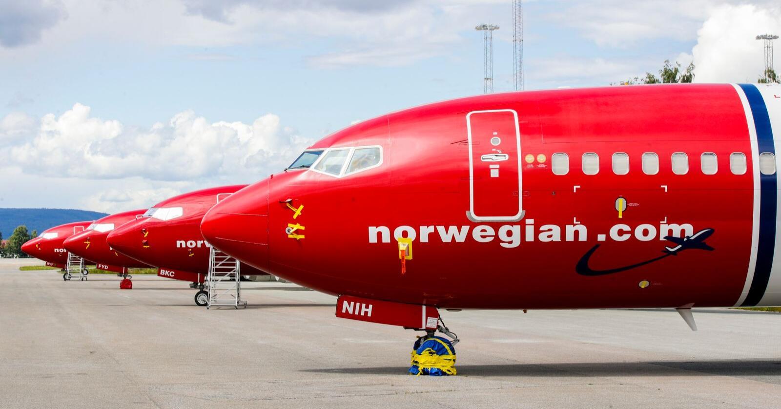 SV har henta inspirasjon frå Austerrike og foreslår minstepris på flybillettar. Foto: Vidar Ruud / NTB scanpix