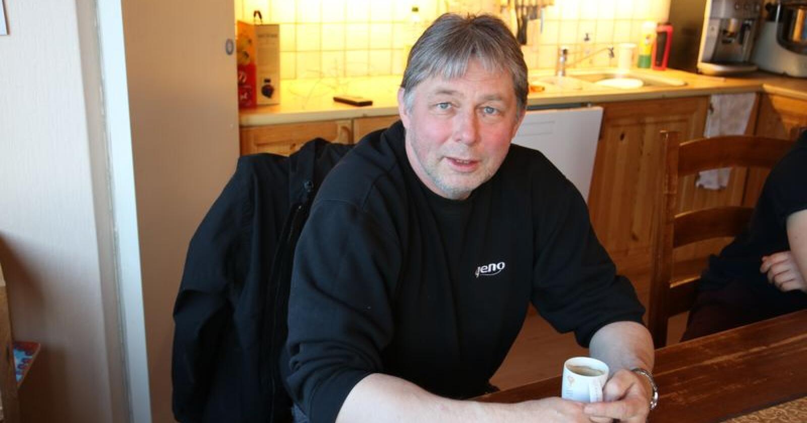 – Vi er ikke ferdigtenkt på hvordan dette skal organiseres, sier fylkesleder Svein Olav Thomassen i Troms Bondelag. Foto: Lars Olav Haug