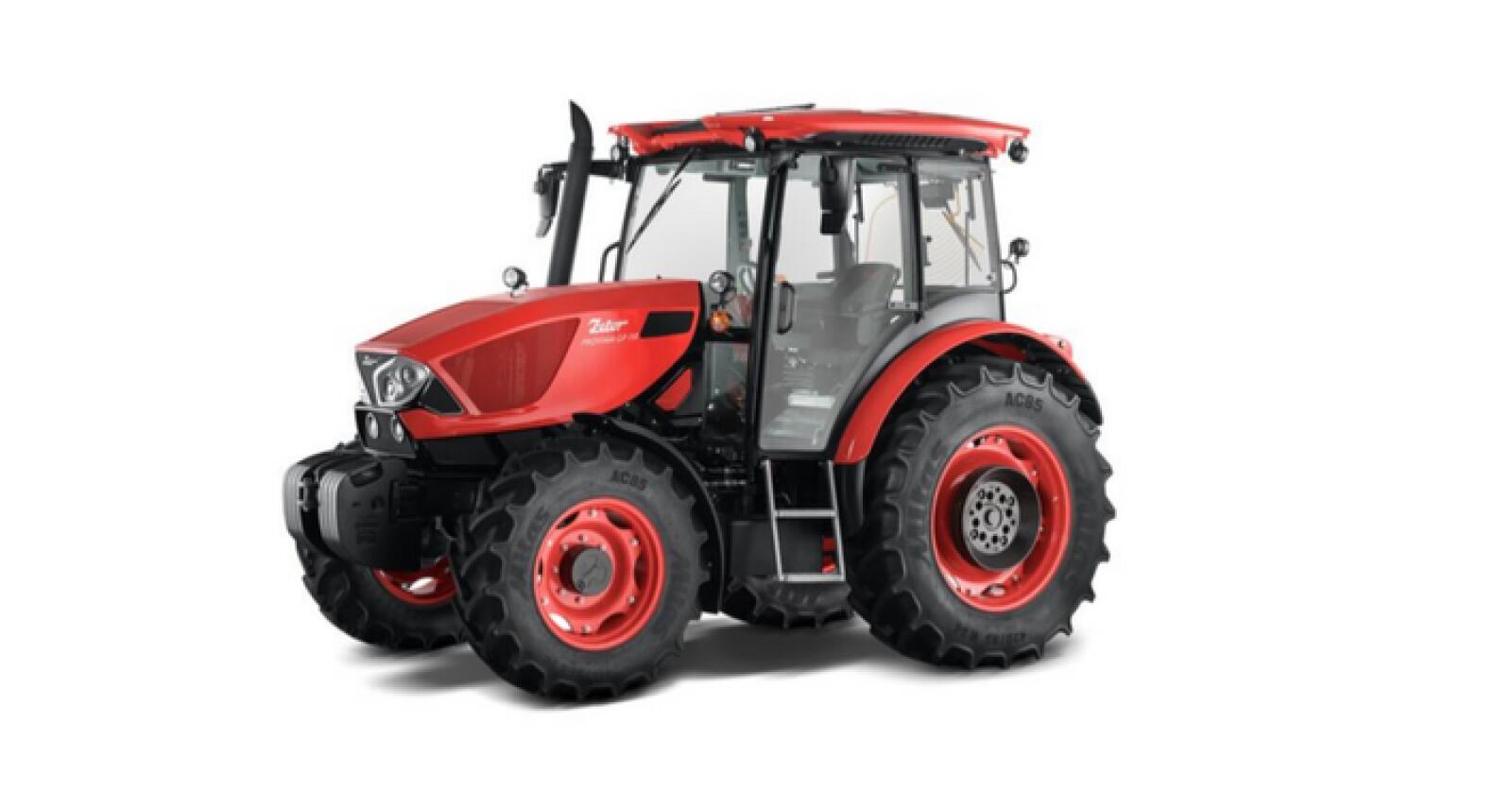 Zetors nye generasjon Proxima ble for første gang fremvist for publikum nå i helga. Traktoren settes i serieproduksjon over nyttår. (Foto: produsenten)