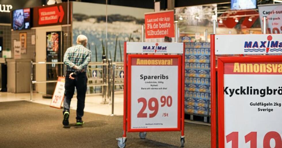 Grensehandelen øker, og stjeler en stor del av omsetningen til norske dagligvarebutikker. Foto: Benjamin Hernes Vogl