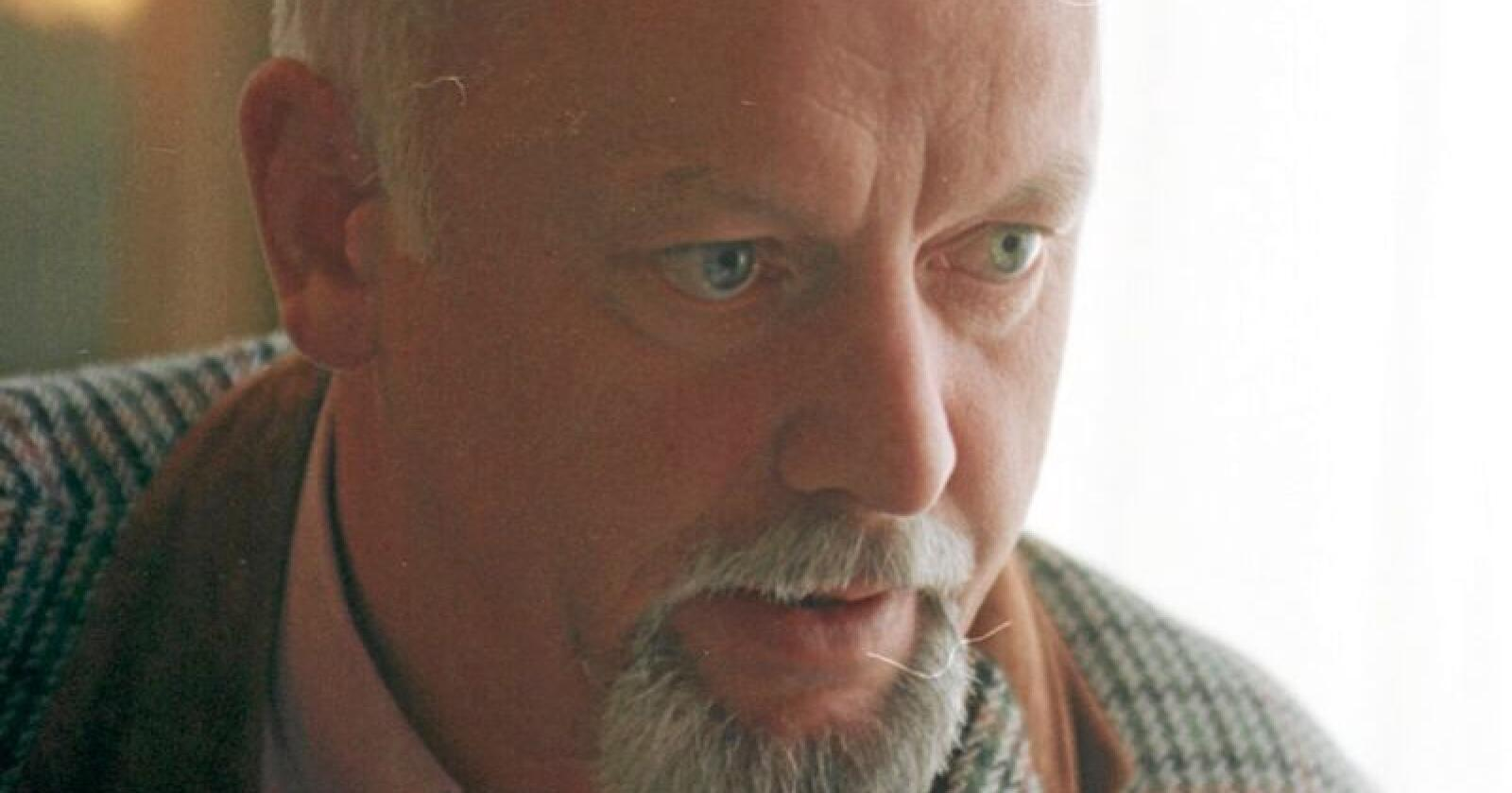 Magnar Lussand, her frå tida som fylkesordførar i Hordaland på sluten av nitti-talet. Foto: Mariann Tvete