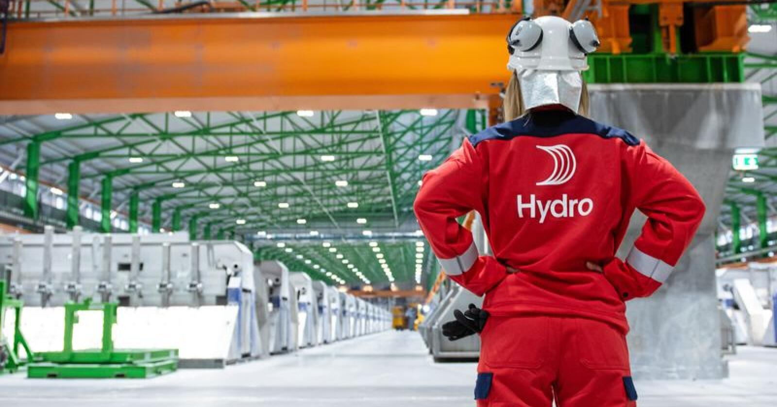 Hydro har de siste årene skrevet under 14 nye avtaler om kraftkjøp til sin produksjon i Norge. Foto: Marius Motrøen / Hydro