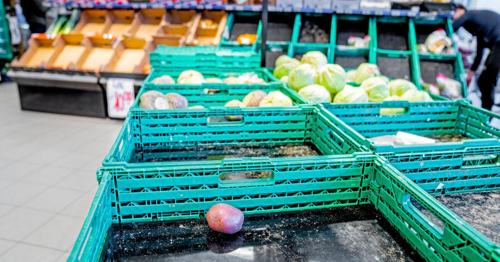 Matforsker mener matsikkerheten vil bli satt på dagsorden i forbindelse med koronakrisen. Foto: Stian Lysberg Solum / NTB scanpix