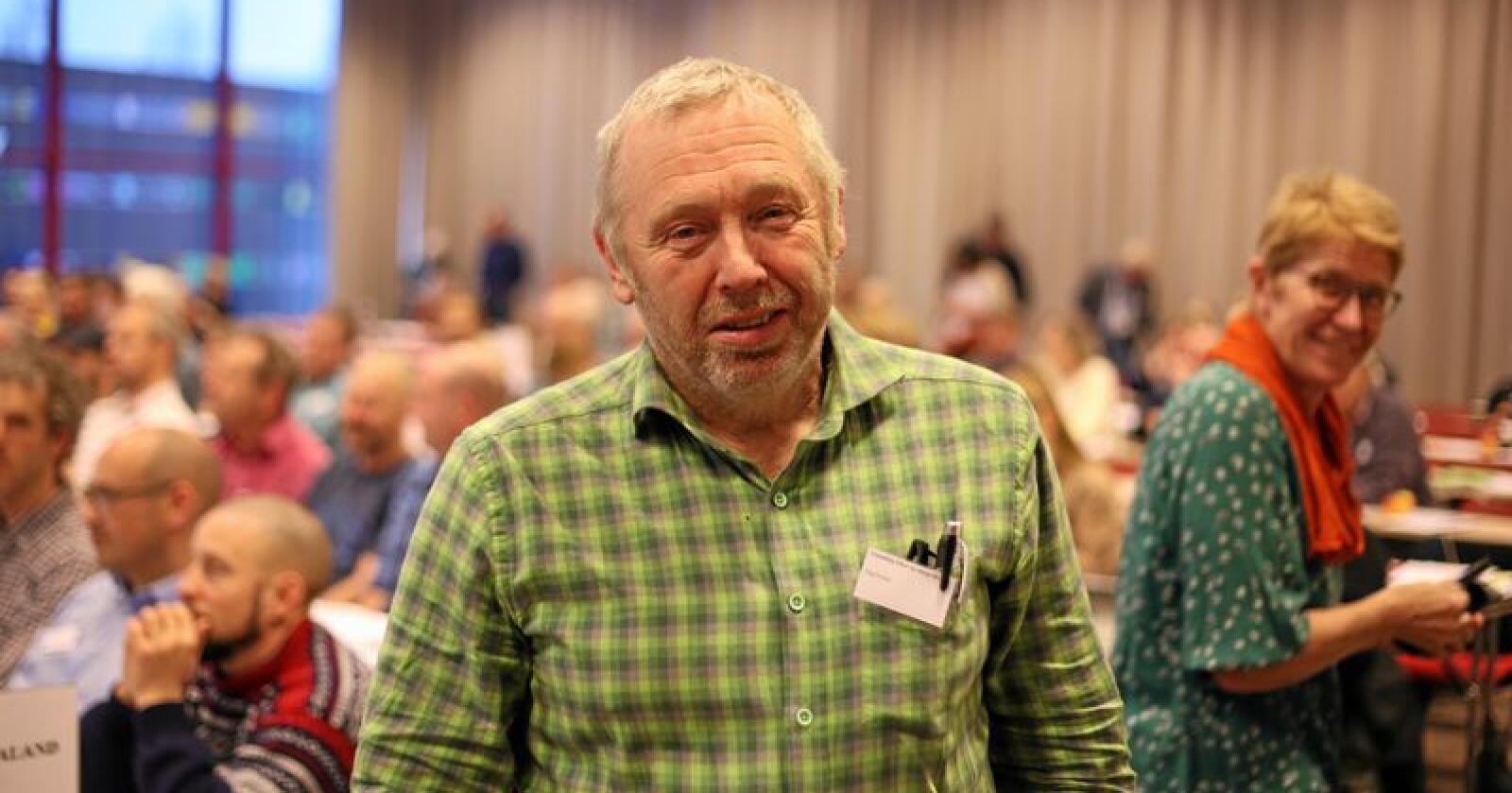 SV har, som eneste rødgrønne parti, levert et konkret forslag om en fireårig forpliktende opptrappingsplan i jordbruket, skriver Dag Fossen. (Foto: Michael Brøndbo)