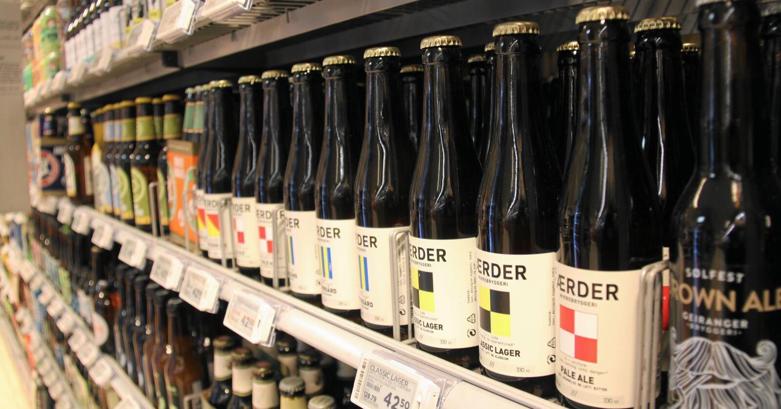 Salget av norsk øl, brus og vann har økt kraftig under koronautbruddet. Foto: Jon Haaland