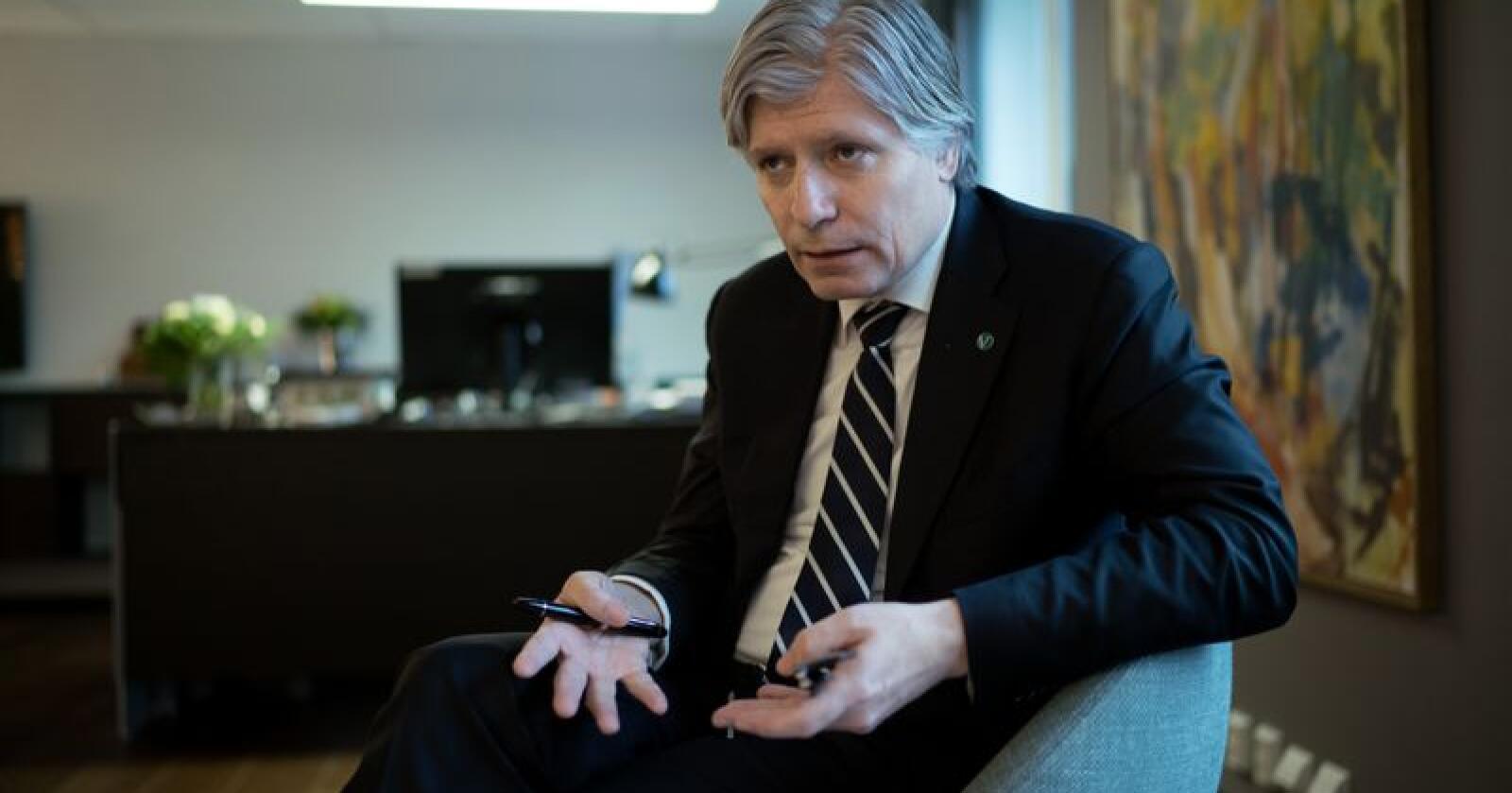 Klima- og miljøminister Ola Elvestuen (V). Foto: Ketil Blom Haugstulen