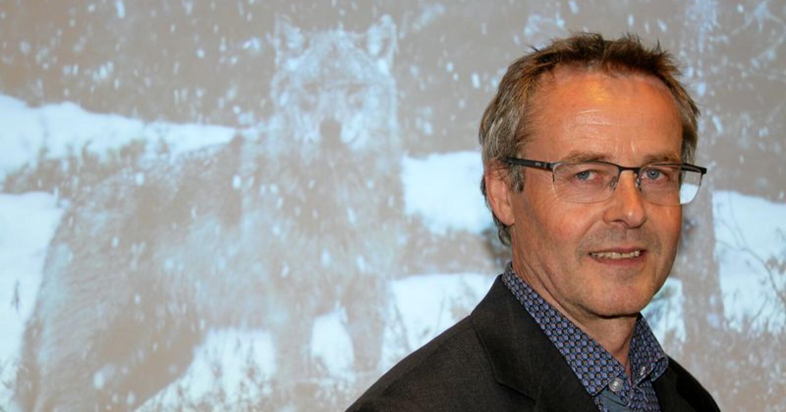 Arnodd Håpnes raser mot at det er iverksatt jervejakt innenfor ulvesonen. Foto: Svein Egil Hatlevik