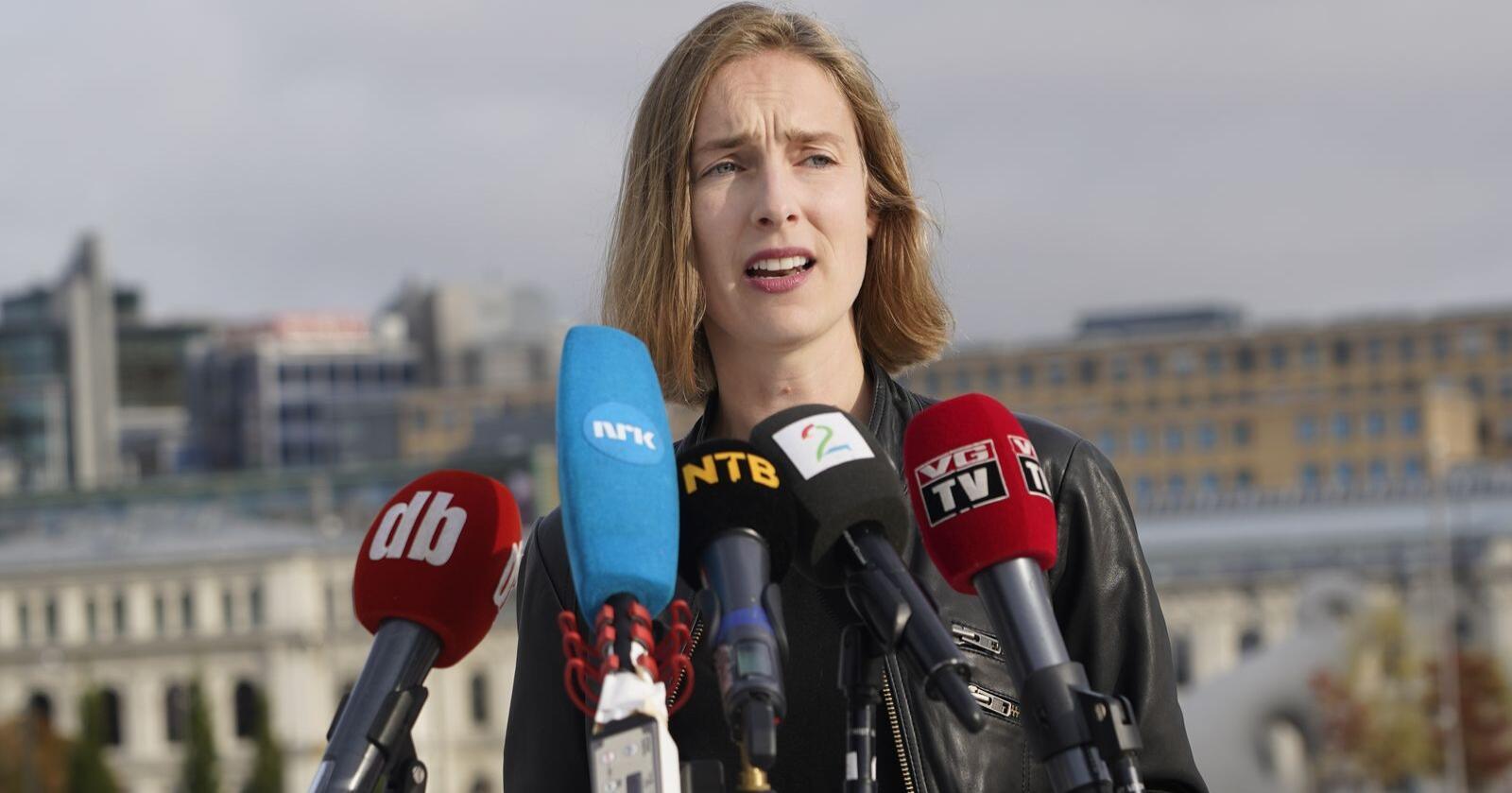 Næringsminister Iselin Nybø (V) vil gi 100 millioner kroner for å styrke norsk eksport. Foto: Heiko Junge/NTB scanpix