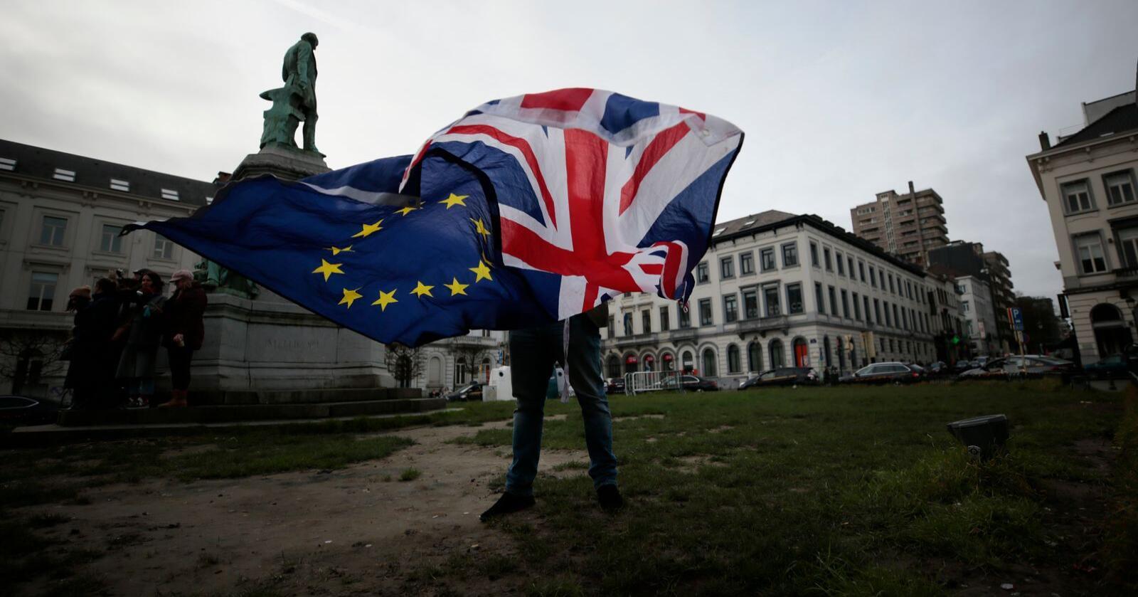 Frihandelsavtale: Har NHOs Tore Myhre studert de 1259 sidene i EU og UKs frihandelsavtale, spør innsenderne. Foto: Virginia Mayo / AP / NTB
