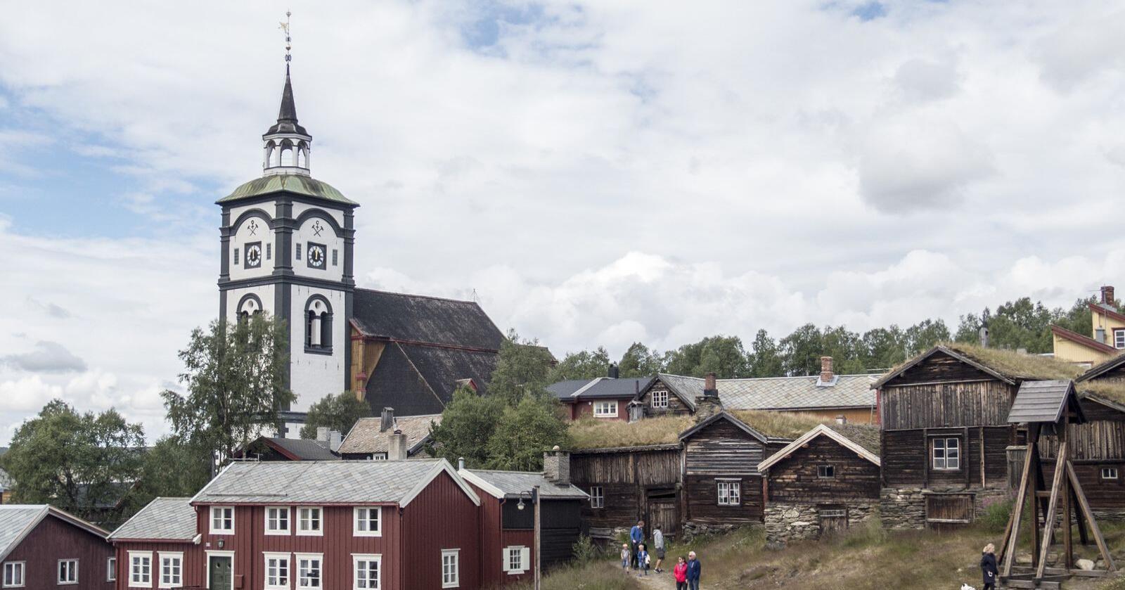 Sultens by: I bergstaden Røros var uår og fattigdom faste produsenter av hunger. Foto: Paul Kleiven / NTB/ NPK