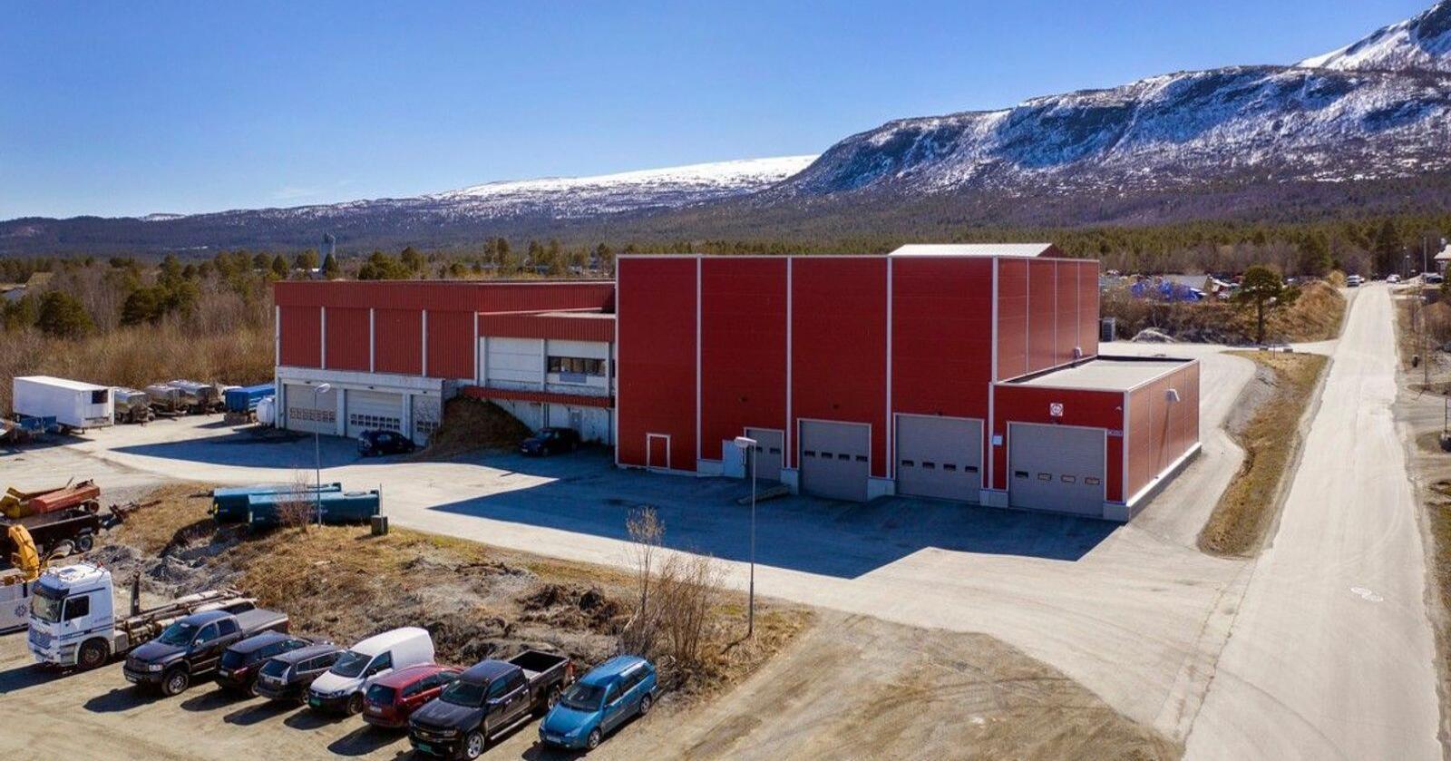 Prisantydningen på anlegget til Midt Norsk Fôr SA er satt til 19 millioner kroner. Foto: Ludvig Killingberg