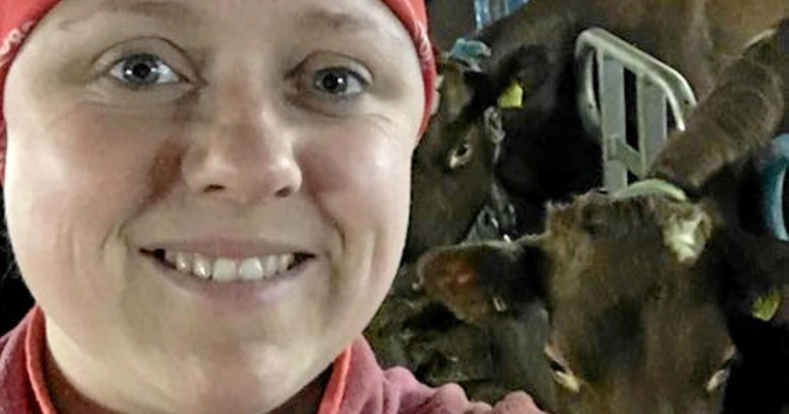 Nina Bentzen, bonde på Lurøy.
