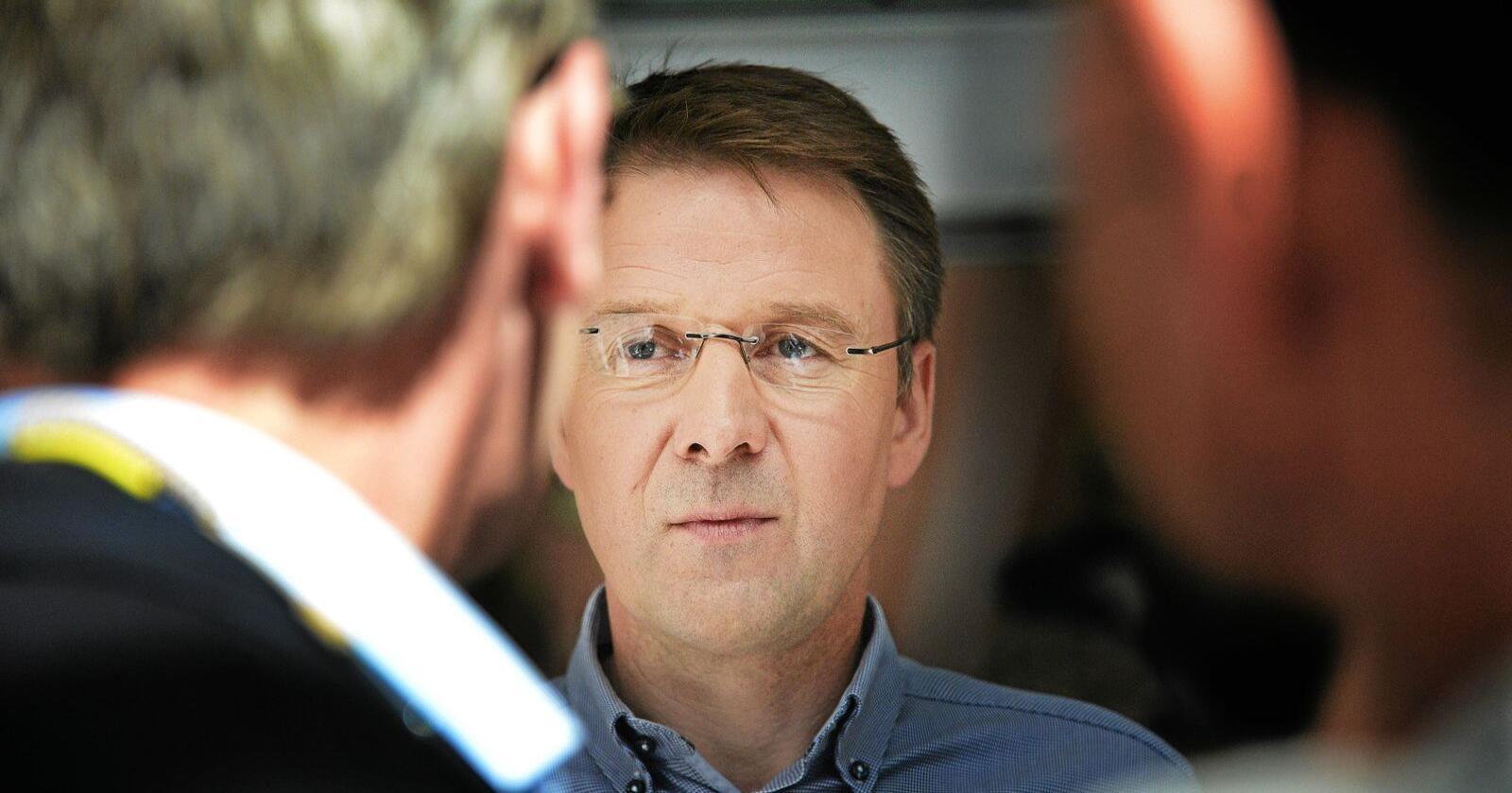 Svarer på svinekritikk: Lars Petter Bartnes i Norges Bondelag. Foto: Siri Juell Rasmusen