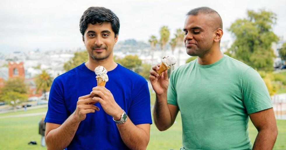 Ryan Pandya og Perumal Gandhi, is-grundere. Foto: Perfect Day