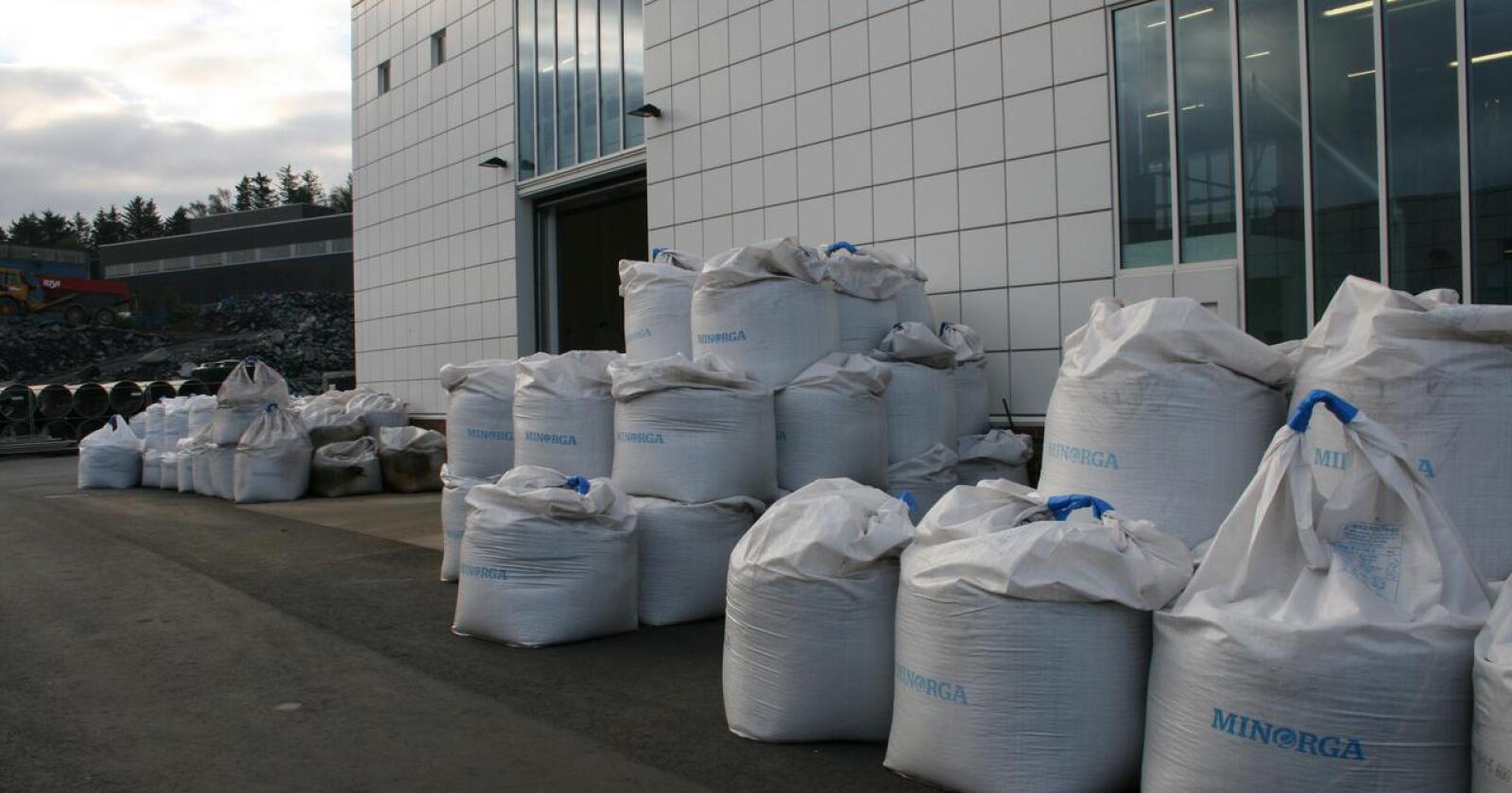 Europas første gjødselfabrikk basert på kloakkslam og matavfall ligger på Randaberg. Potensialet for vekst i sirkulær kloakkprosessering er enormt. Foto: Bjarne B. Aase