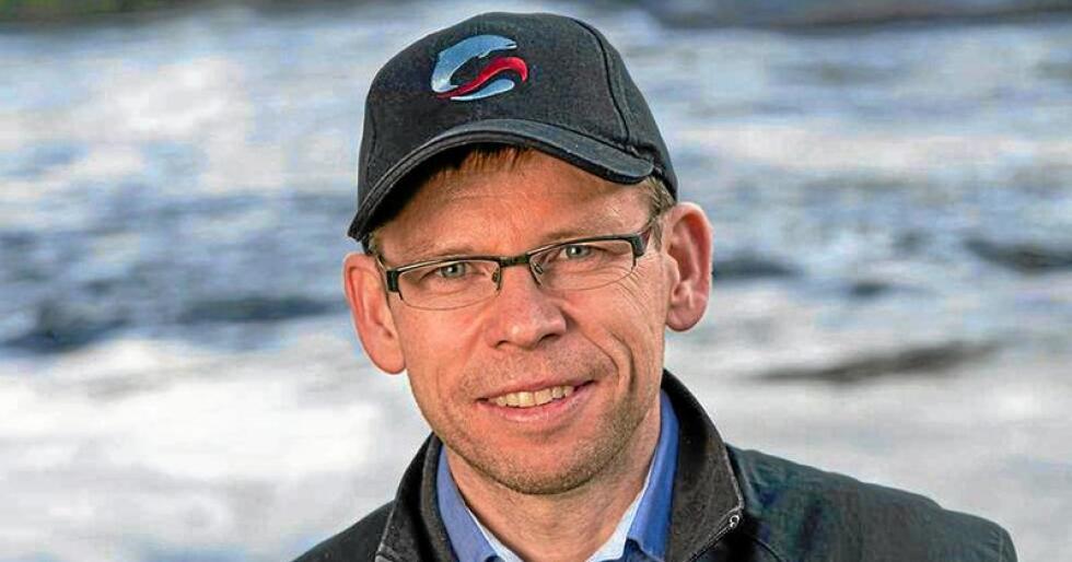Tap: Torfinn Evensen, generalsekretær i Norske Lakseelver, melder om et tap på opp mot 200 millioner kroner. Foto: Norske lakseelver