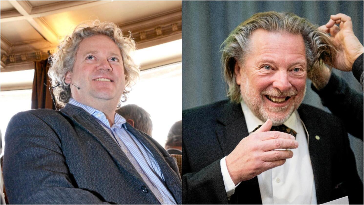 Johan Johannson (t.v.) og Odd Reitan er Norges andre og tredje rikeste, ifølge Kapital. Fotomontasje: Mariann Tvete og Ole Martin Wold / NTB scanpix